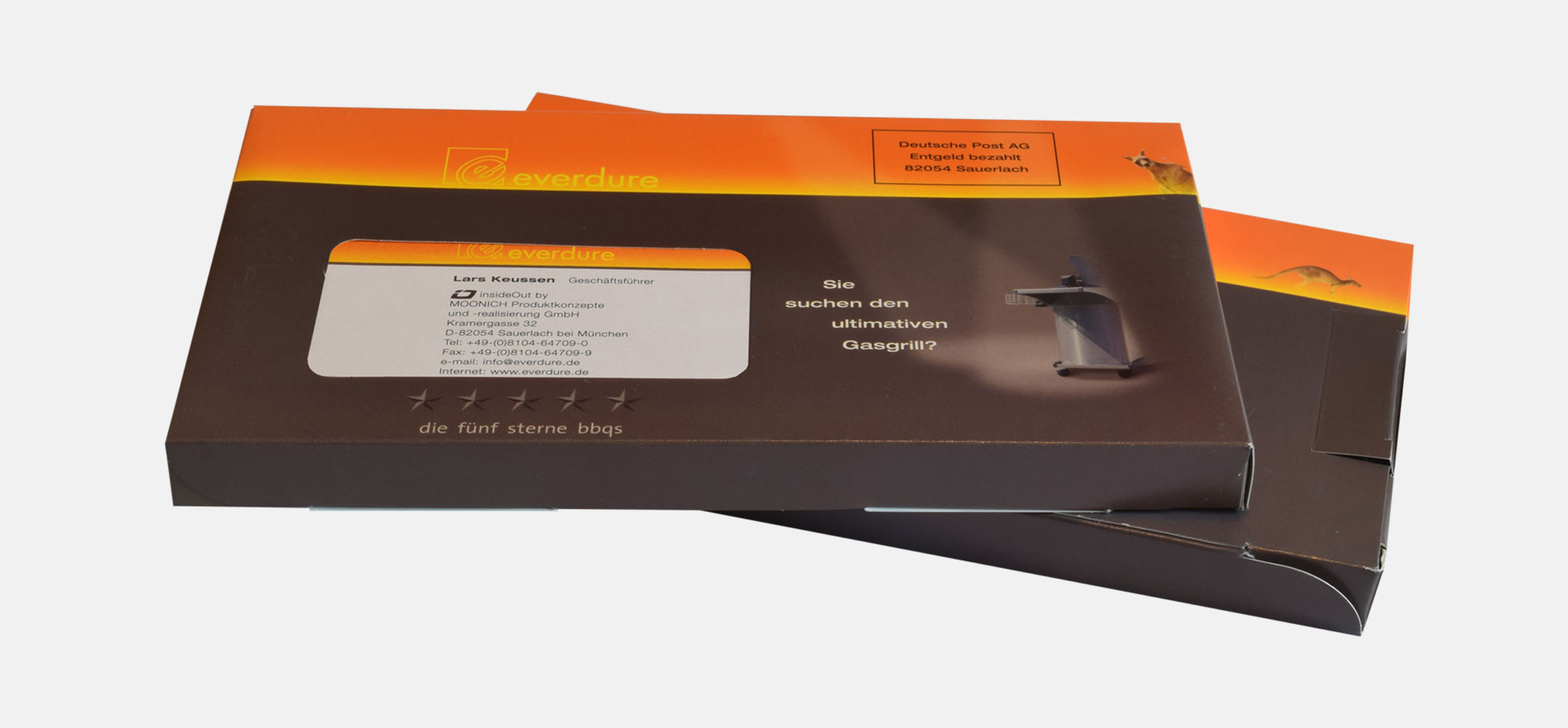 MOONICH | corporate design für die marke everdure, australia – infragrau, gute gestaltung