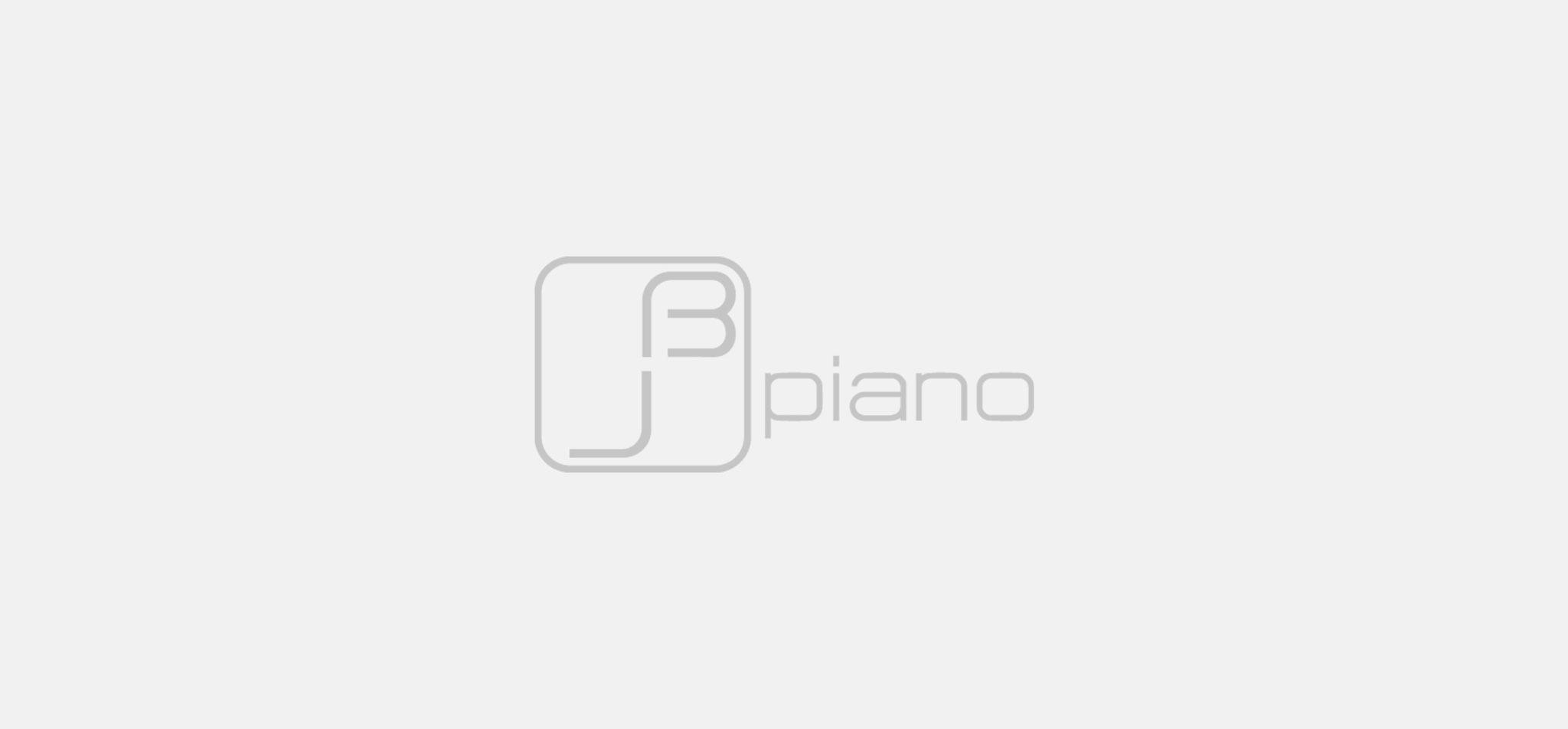 JAN BEHRENS | logo JB piano, grauversion – infragrau, gute gestaltung
