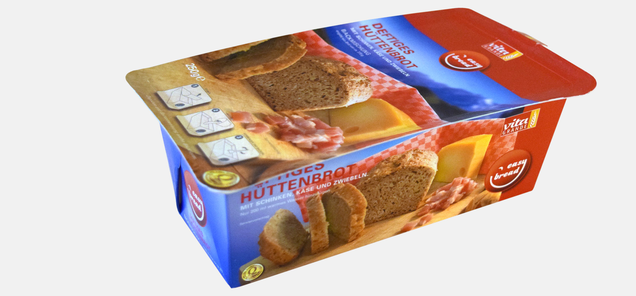 FLECHTORFER MÜHLE | verpackung vita grande easy bread – infragrau, gute gestaltung