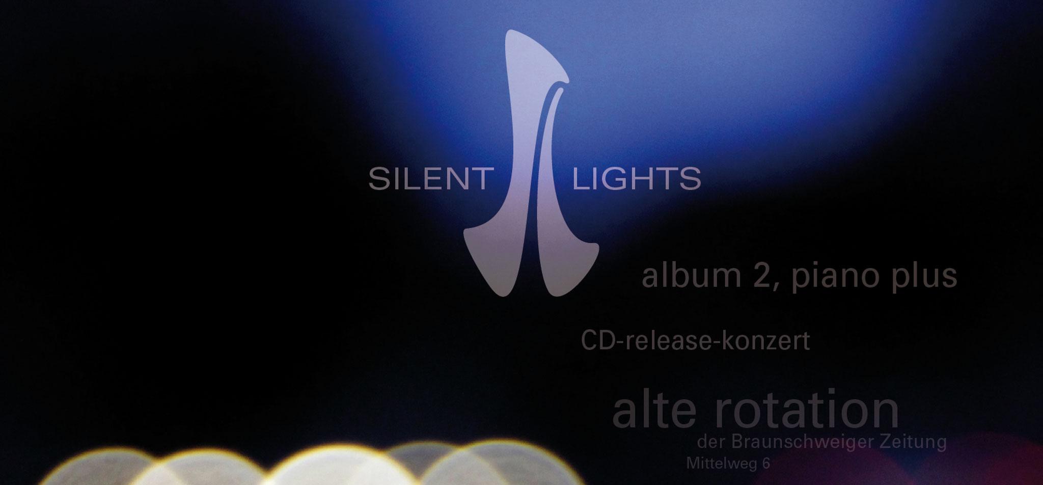 JAN BEHRENS | logo silent lights in anwendung – infragrau, gute gestaltung
