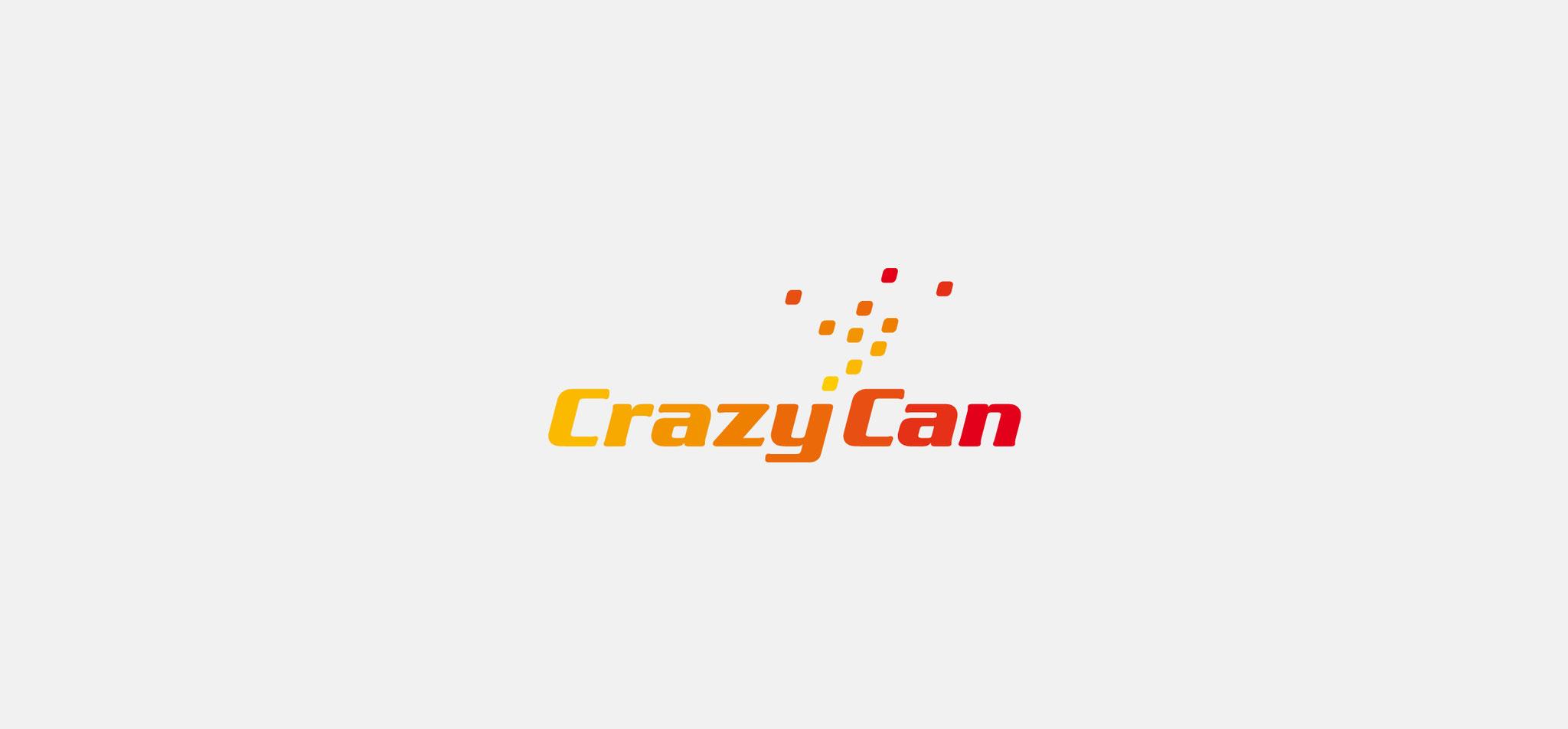4PACK | logo crazy can – infragrau, gute gestaltung
