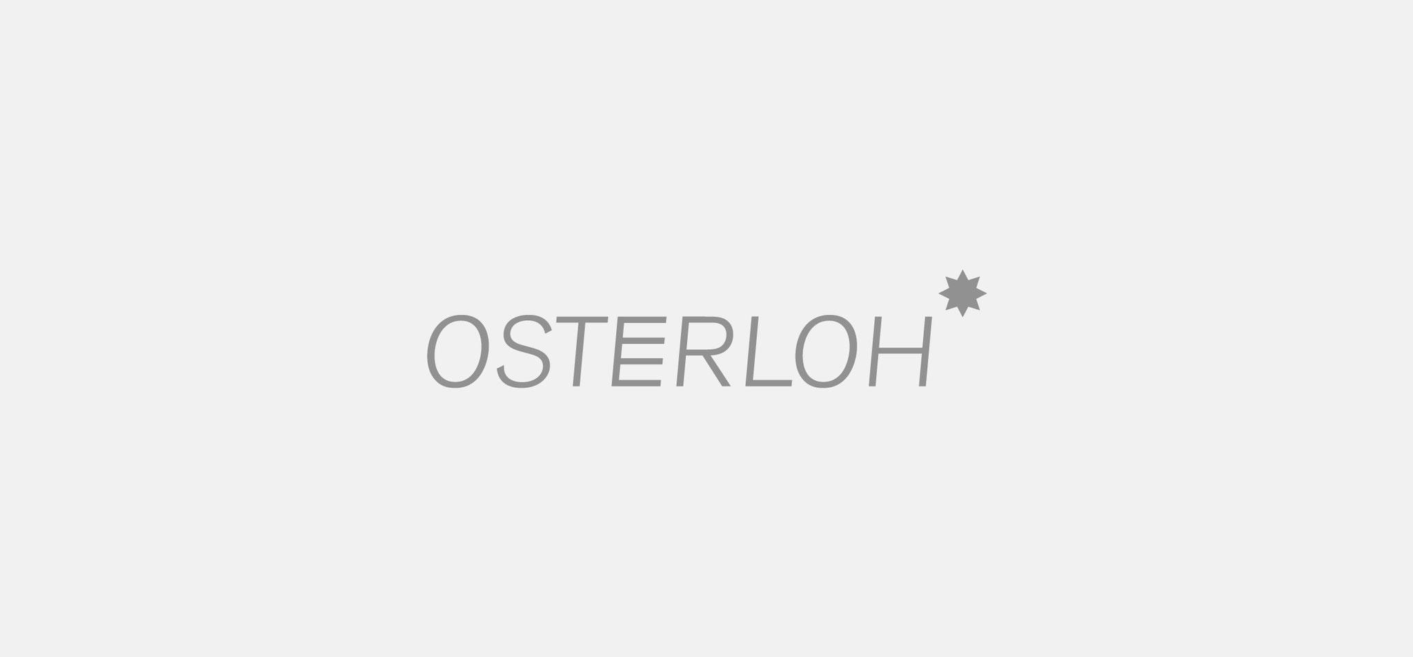 OSTERLOH | logo osterloh – infragrau, gute gestaltung