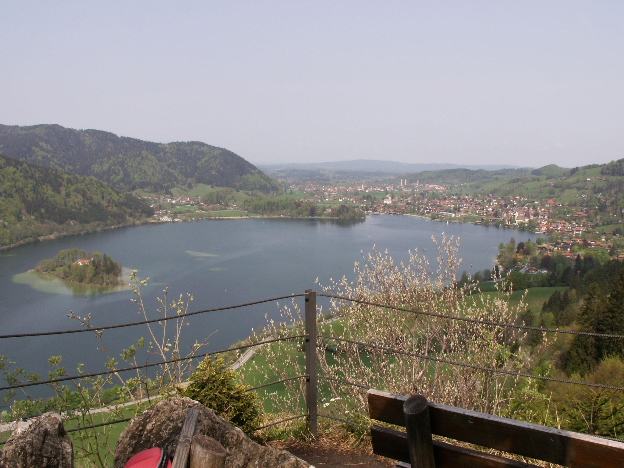 Gruberhof Fischbachau - Blick auf den Schliersee