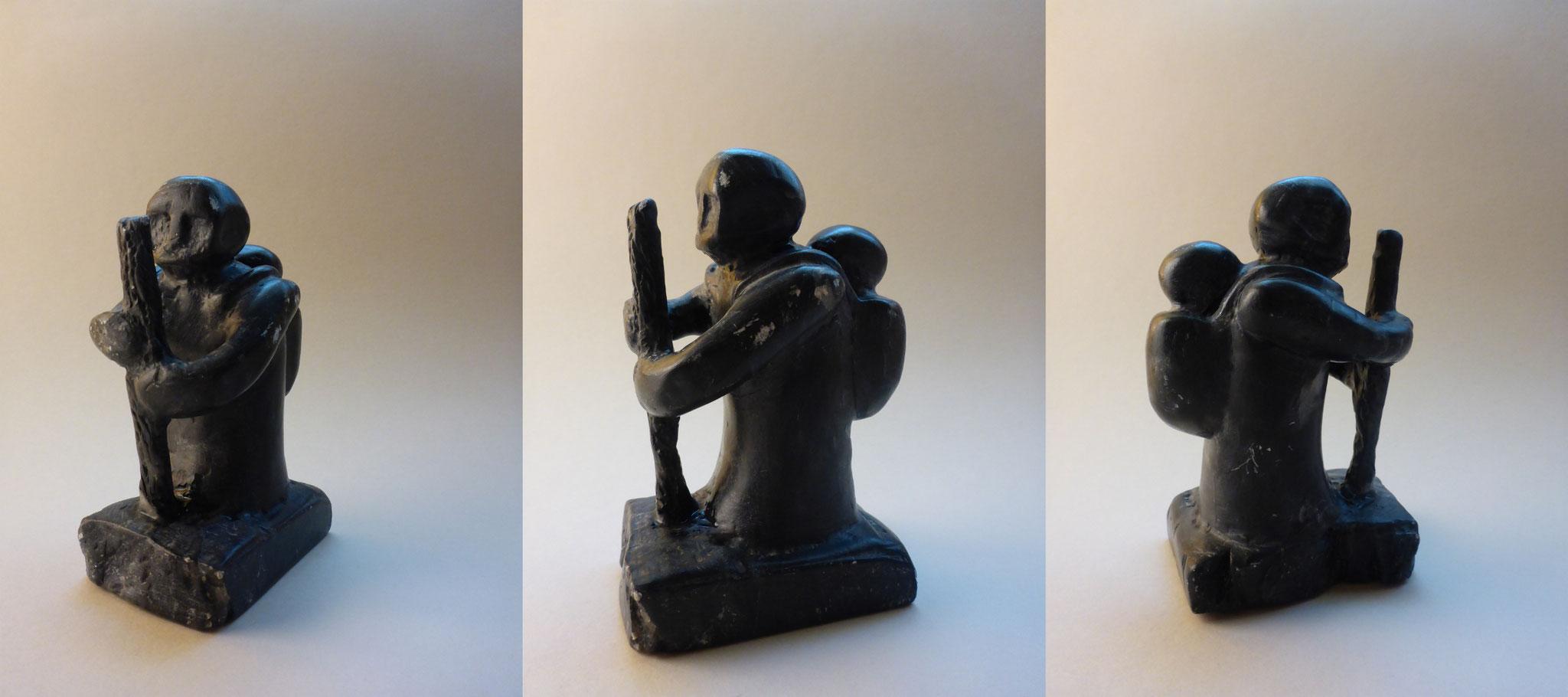 """Grandma"", 1998, soap stone,  11 cm"