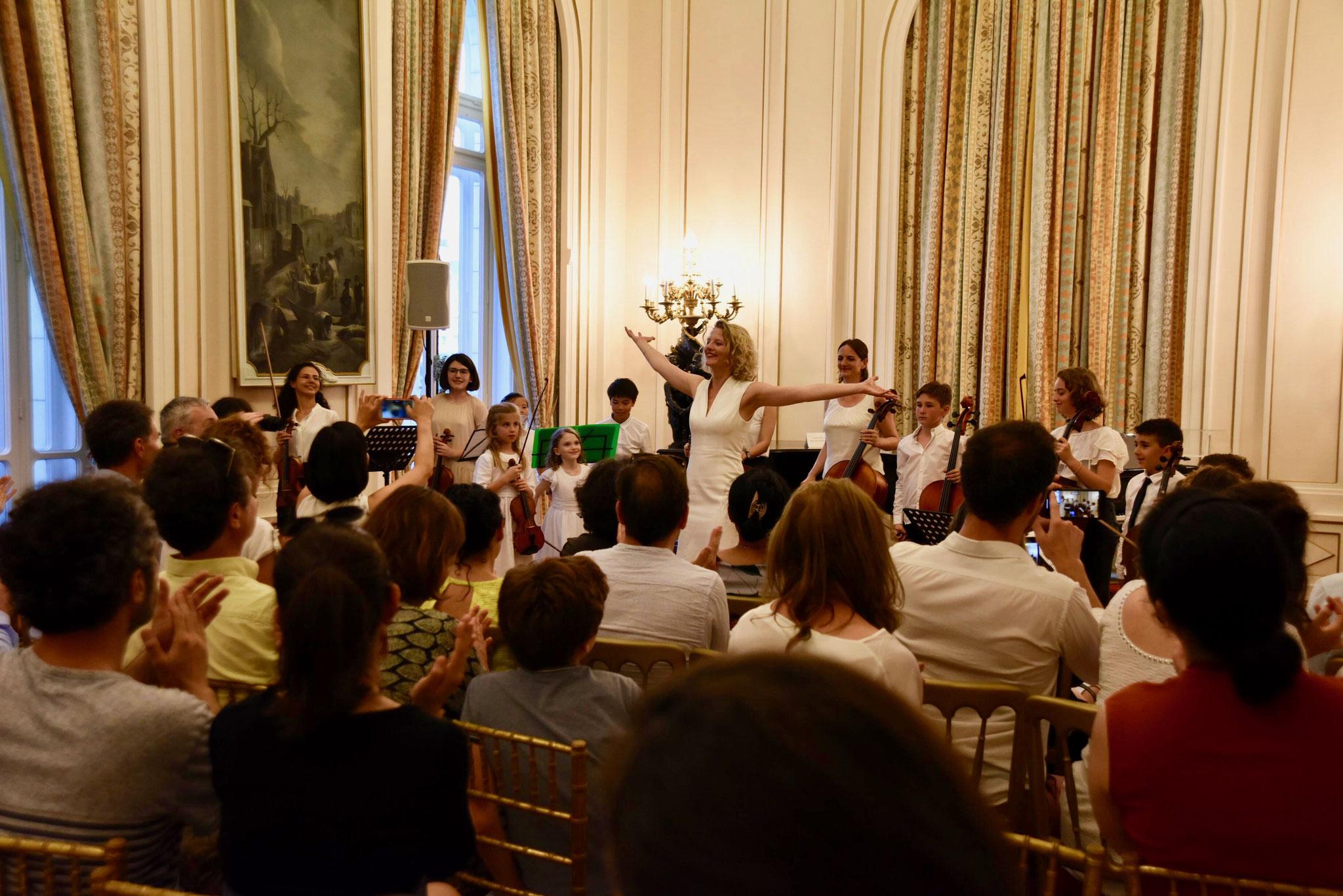 Nebl, Musikschulkonzert in der Französischen Botschaft