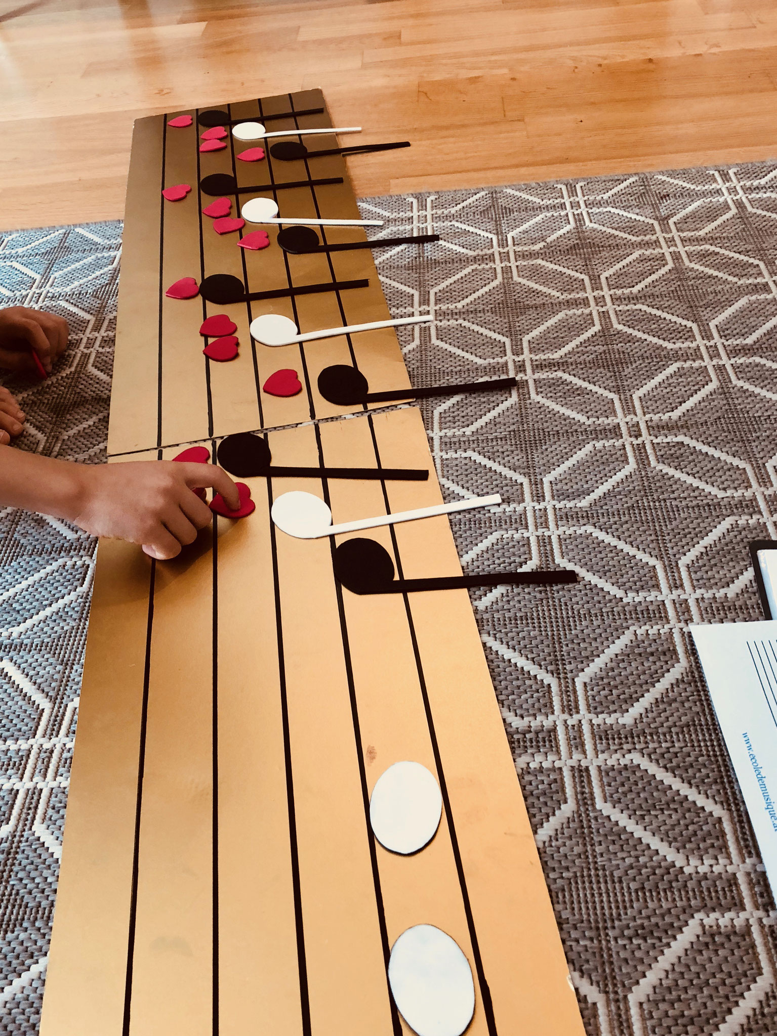 Noten und Rhythmus spielerisch lernen