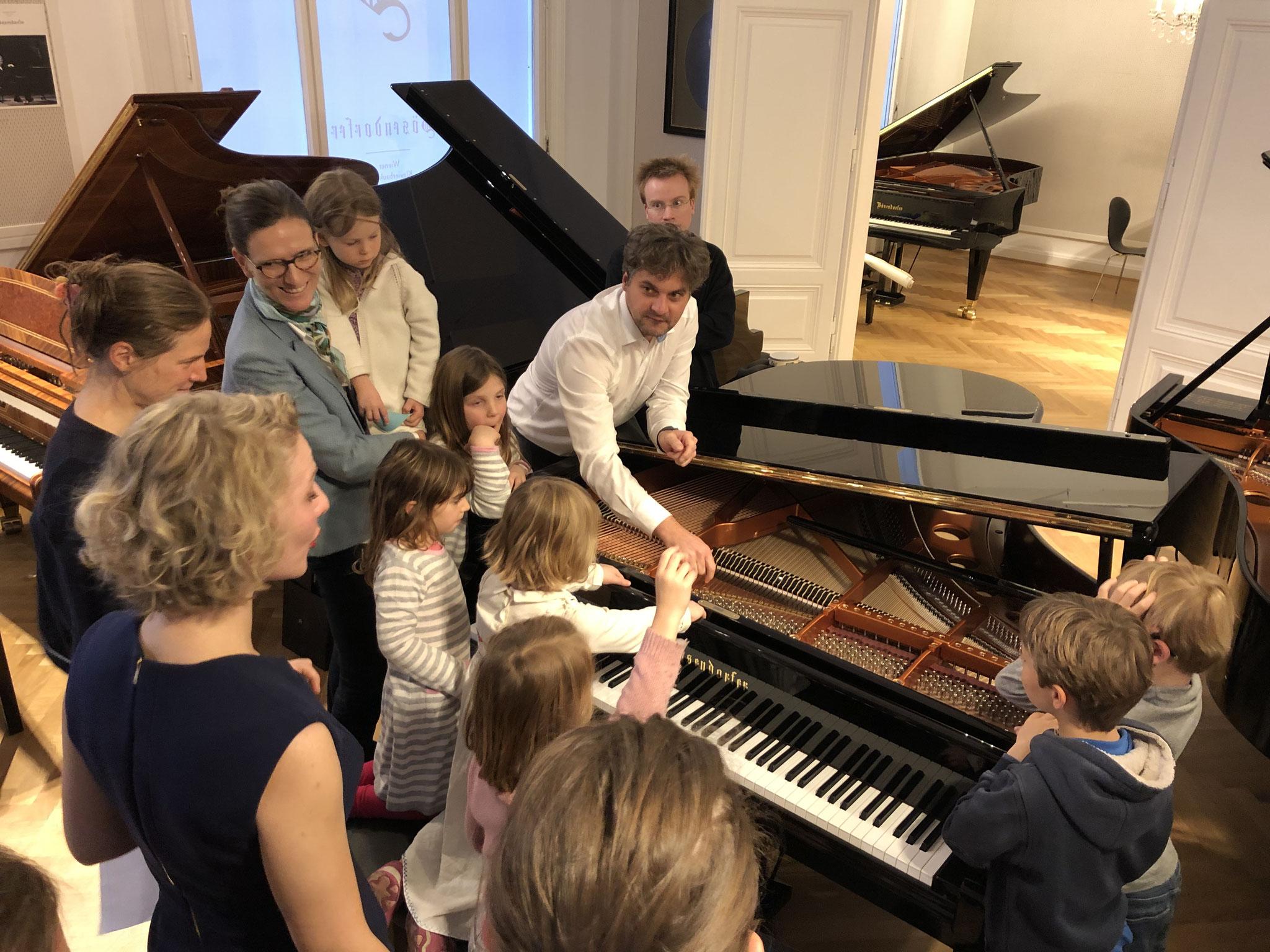 Musikvermittlung: das Klavier