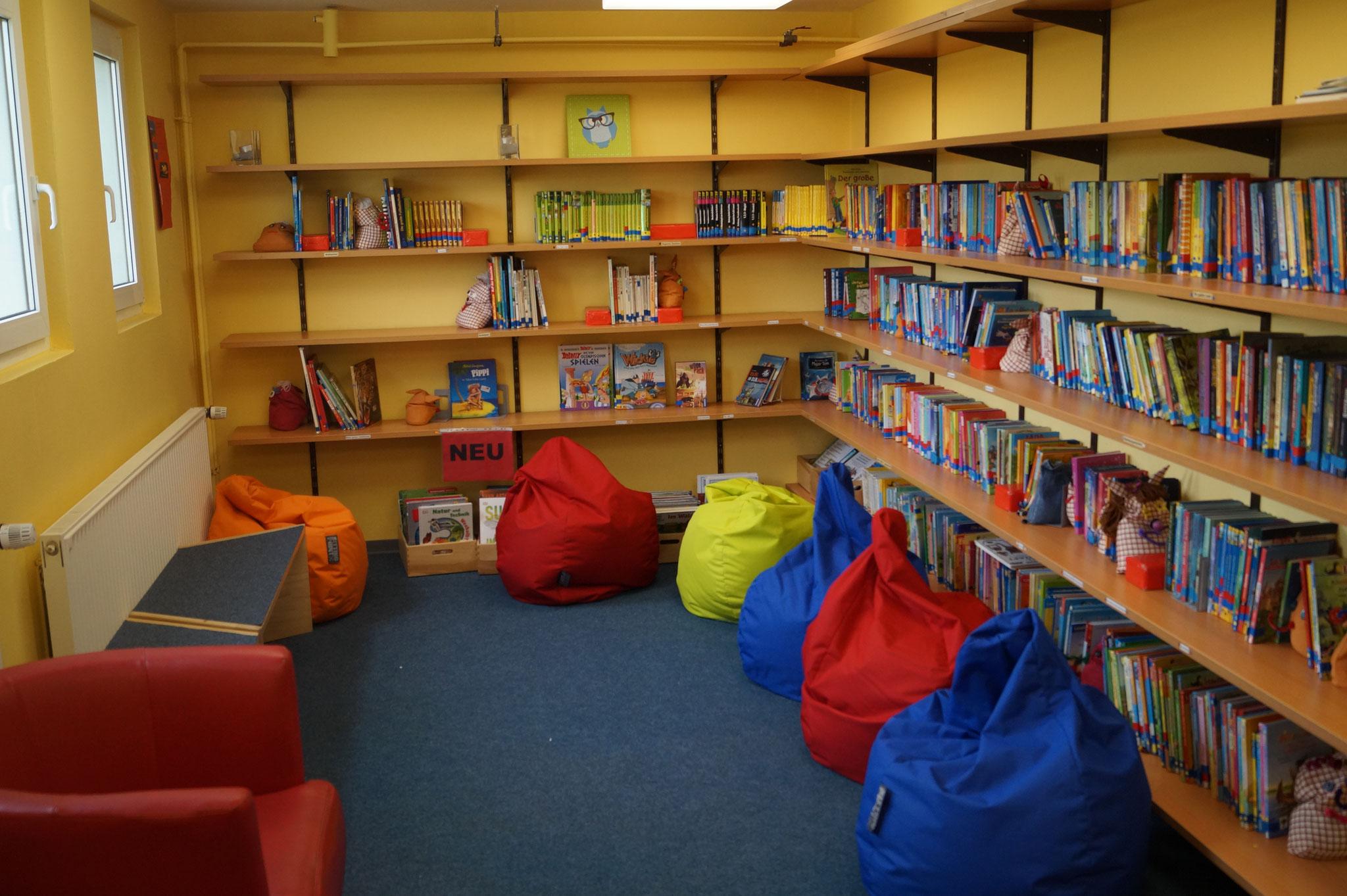 Die Bücherei - Rückzugsort für Leseratten
