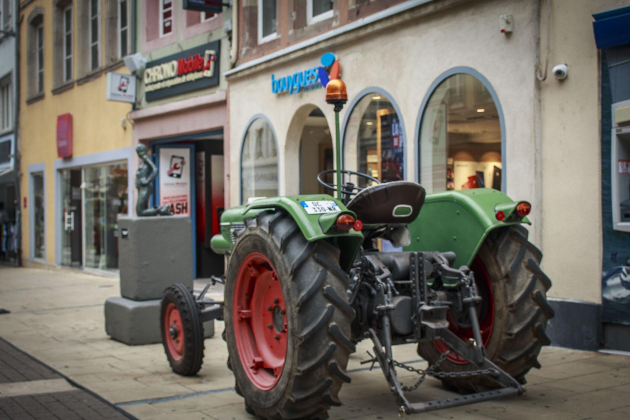 Traktorschau