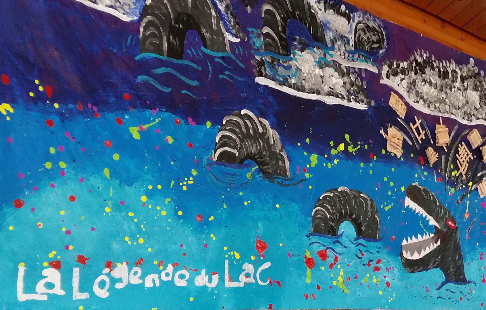 Le monstre du lac Léman