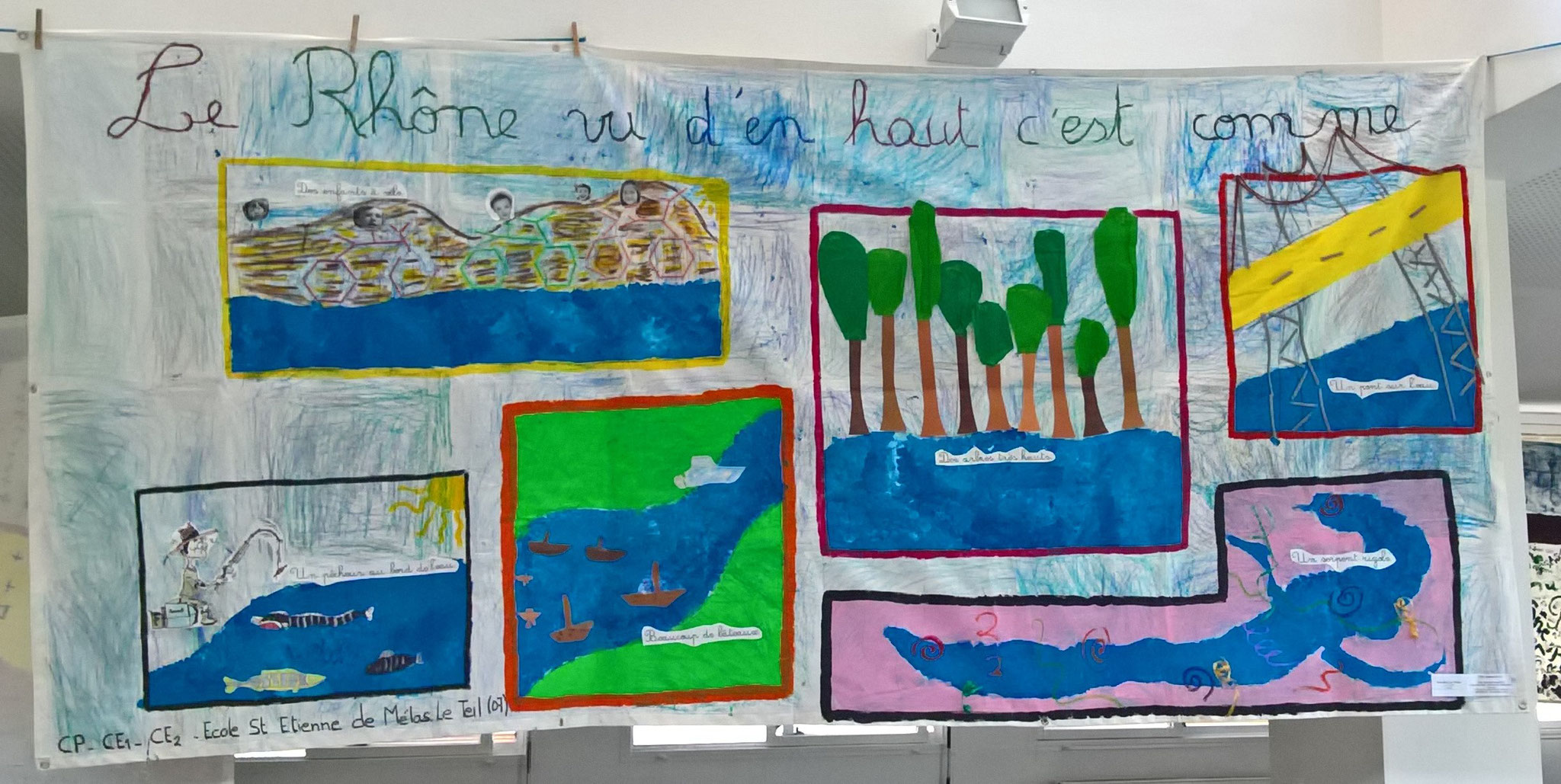 Ecole Saint-Etienne de Mélas, Le Teil (07), CP/CE1/CE2