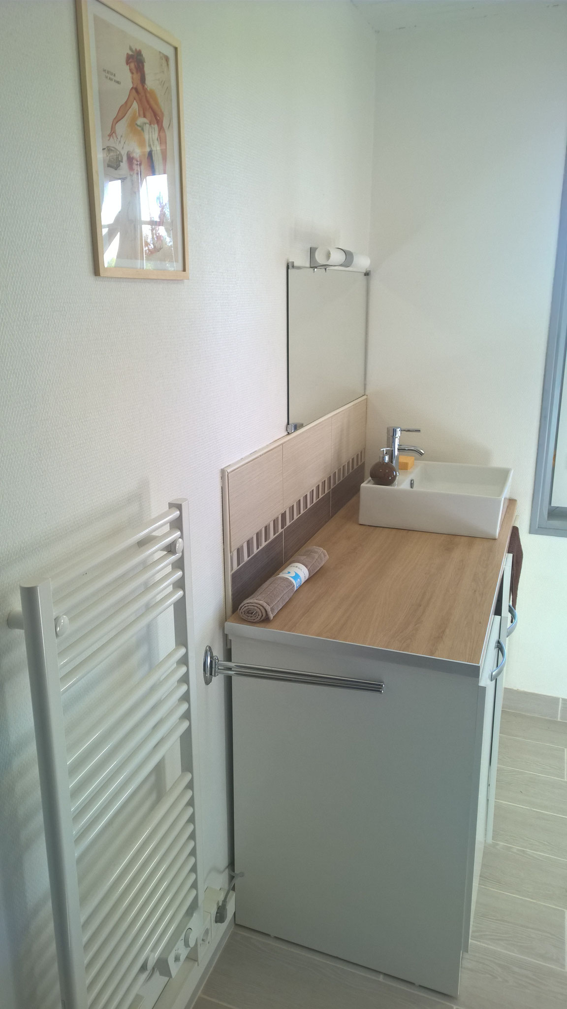La résinière - salle d'eau au rez-de-chaussée