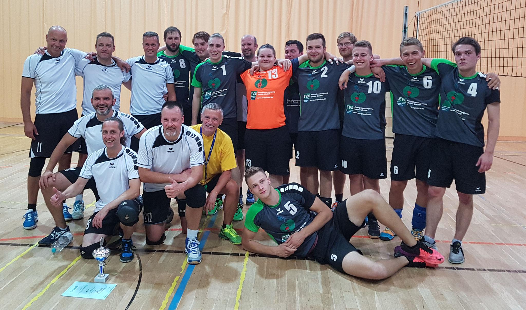 Wacker mit 1.VC Schloß Apolda u20 und Uwe Sierig