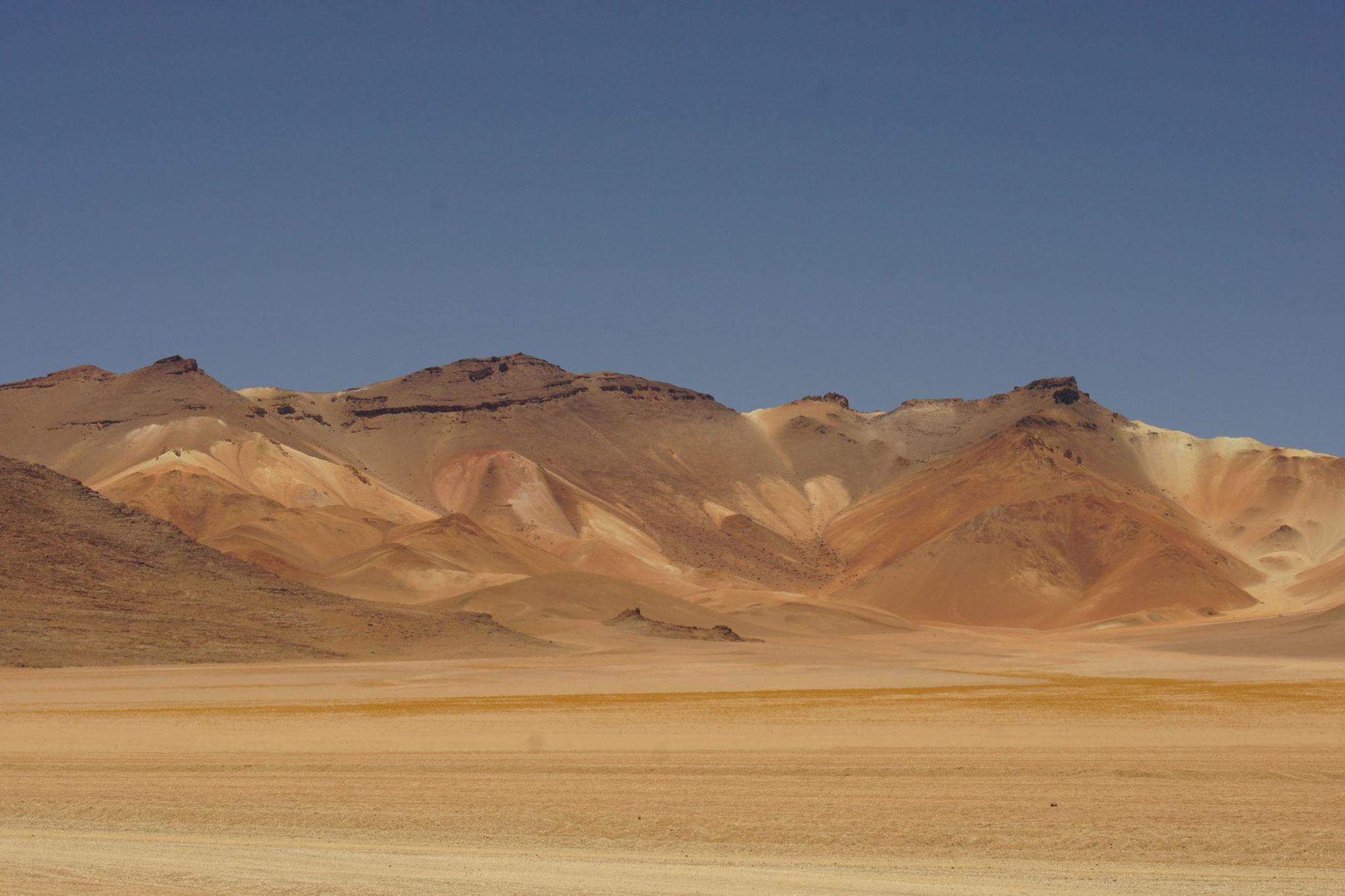 Die Dalí Wüste in der Region von Uyuni
