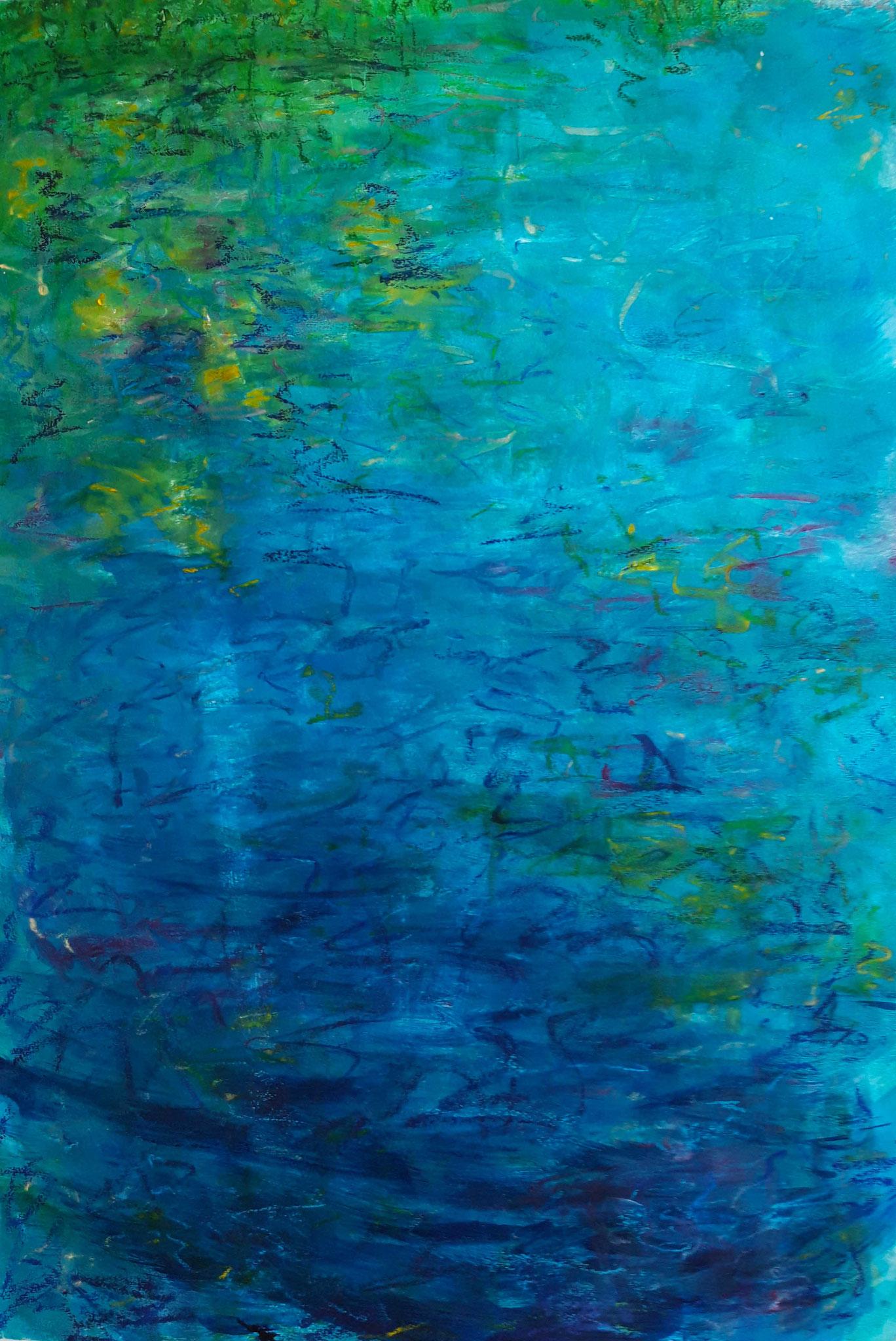 Am Teich (50x70 cm)