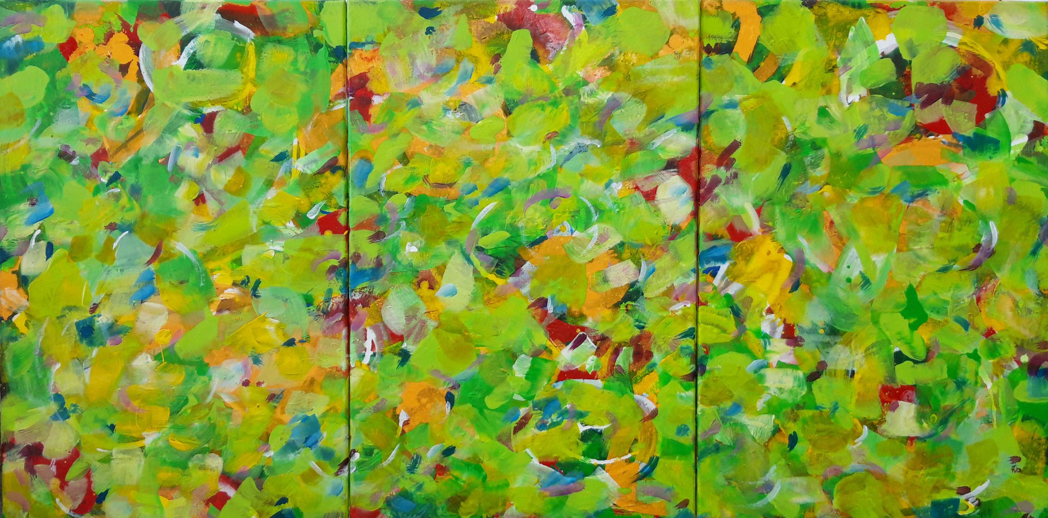 Sommerwiese-2 (120x60 cm)