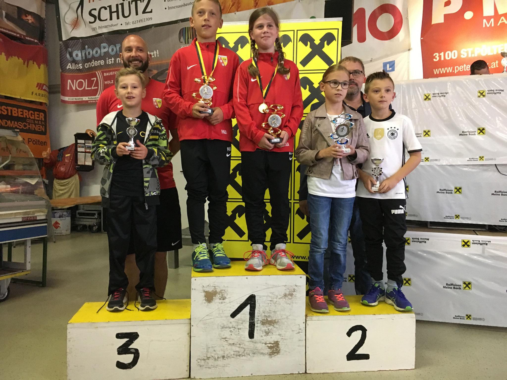 Nils belegt den 3. Platz in seiner Altersklasse