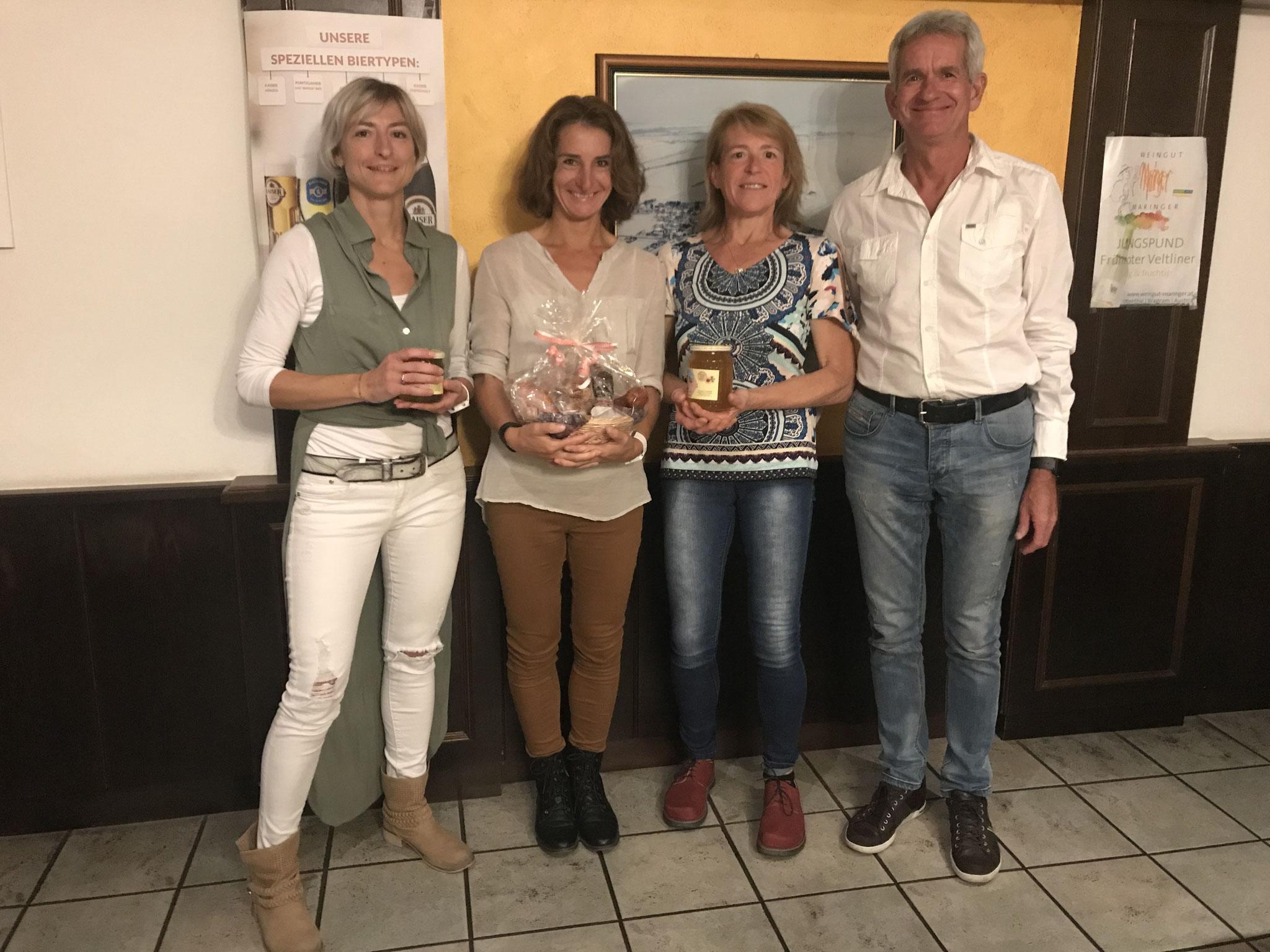 Gratulation an Daniela, Leopoldine & Birgit!