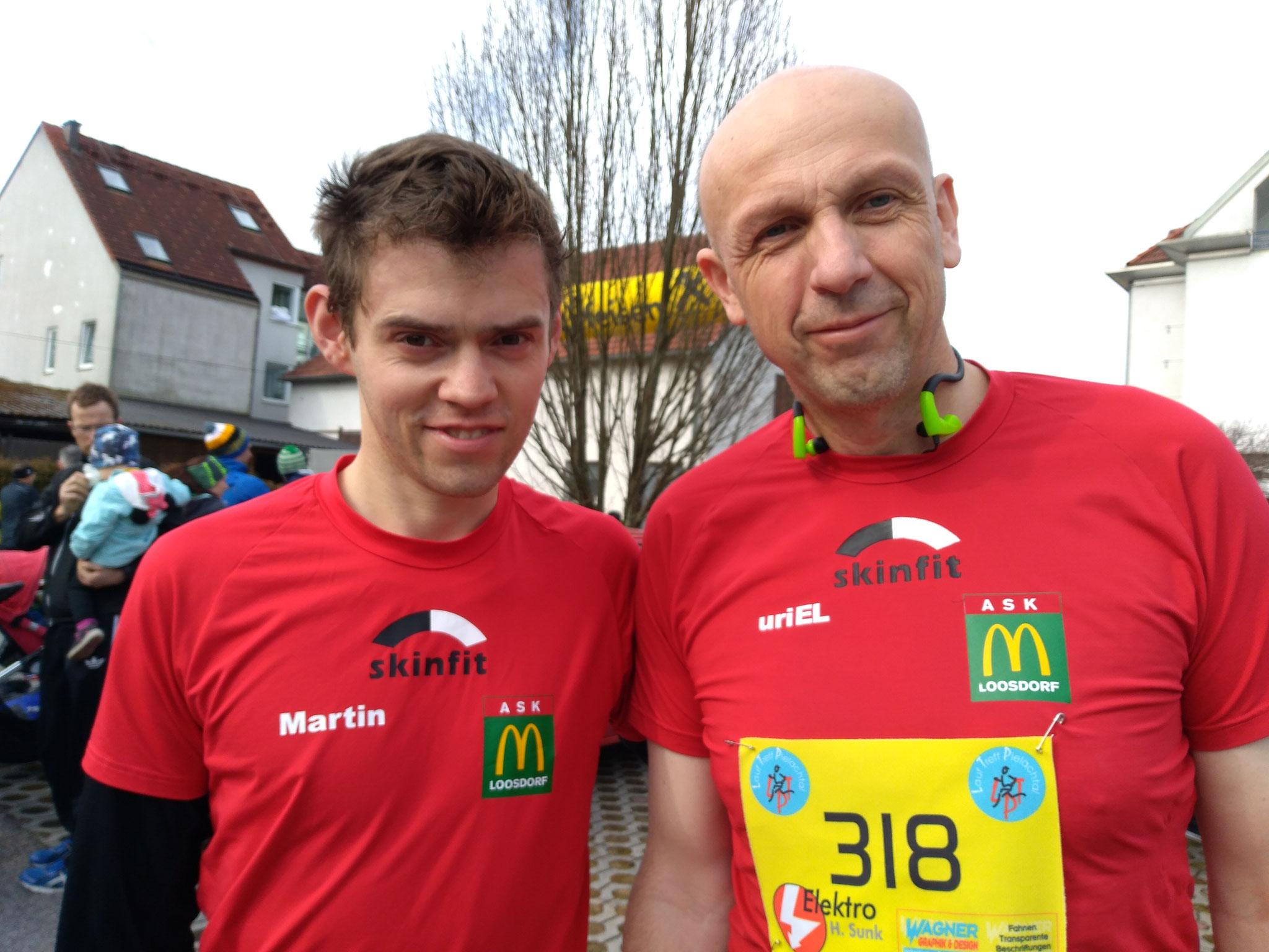 Locker & lässig wie immer: Martin & Wolfgang