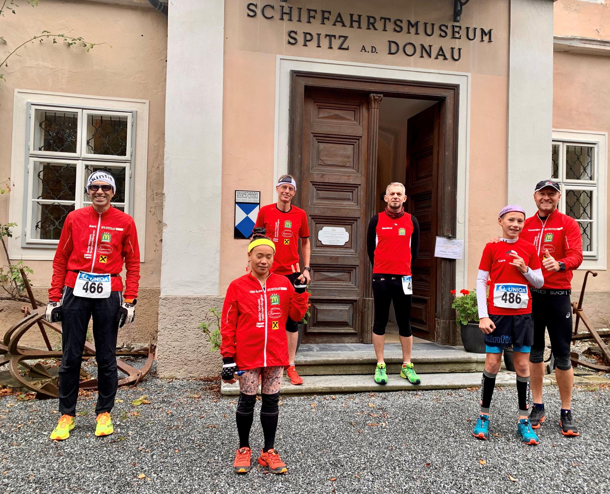 Mannschaftlich stark: 4. Platz Rolf; 15. Platz Karl GRATULATION!!