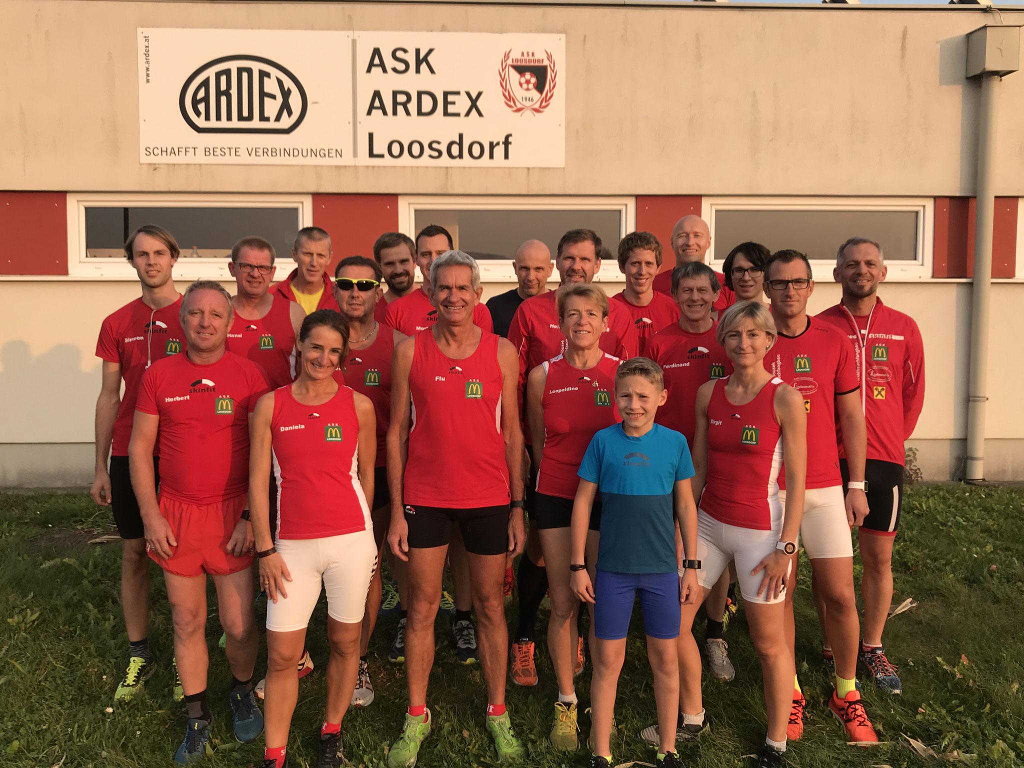 20 Läuferinnen & Läufer stellen sich heuer der Herausforderung!!
