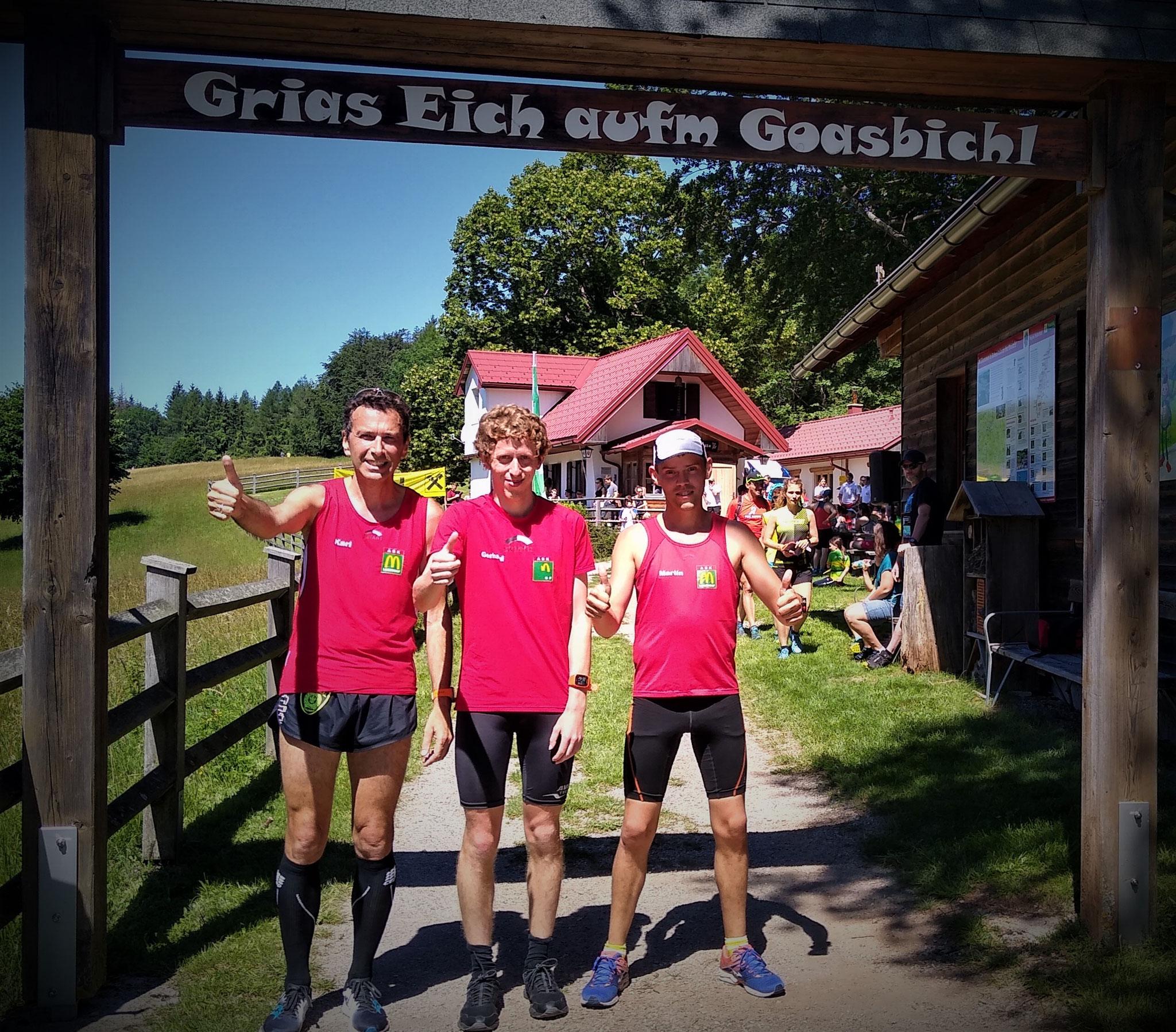 Tolles Wetter und Tagessieg! Gratulation Gerhard & Team!!