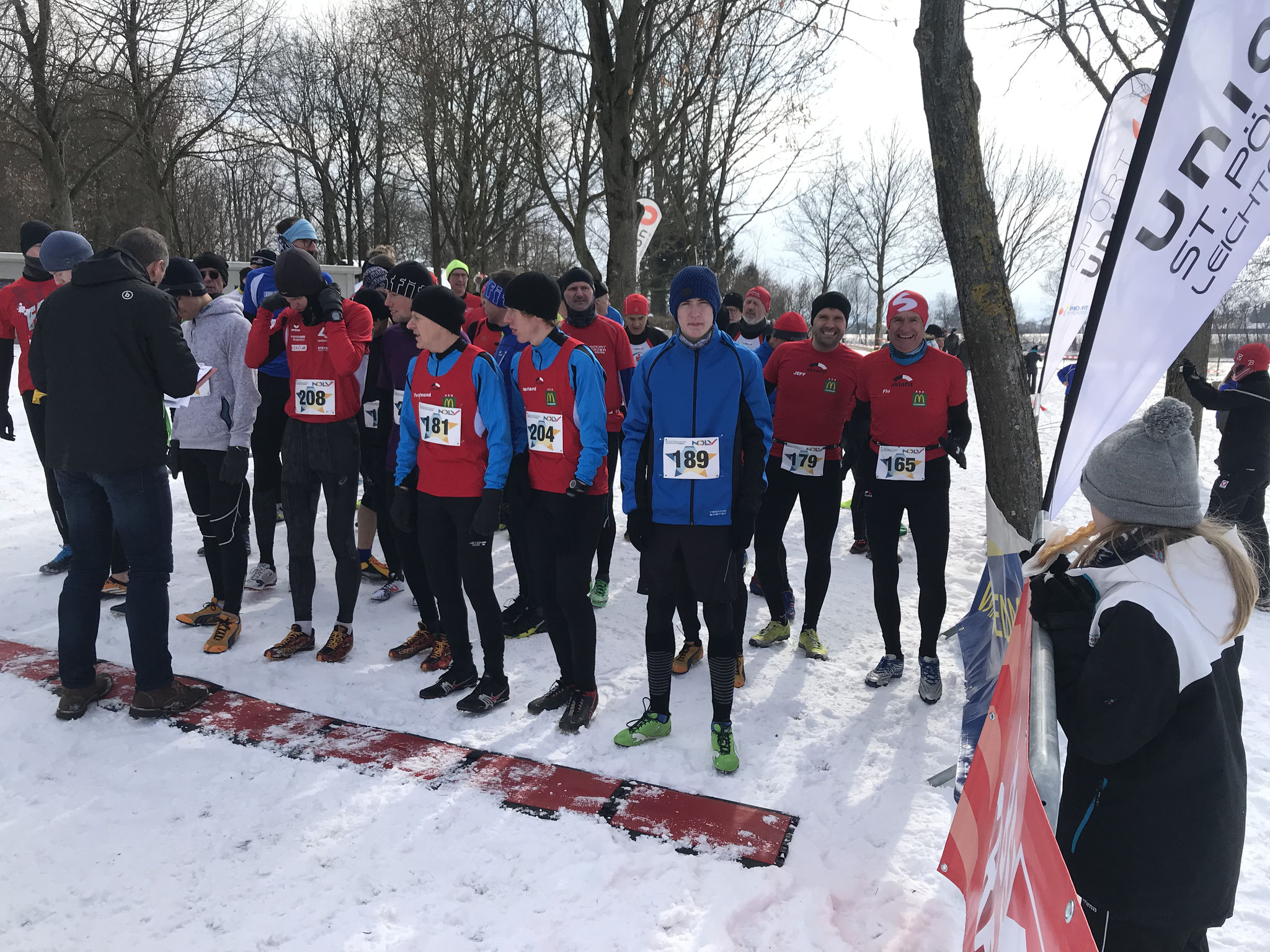 Am Start bei der Masters - Männer Kurzdistanz