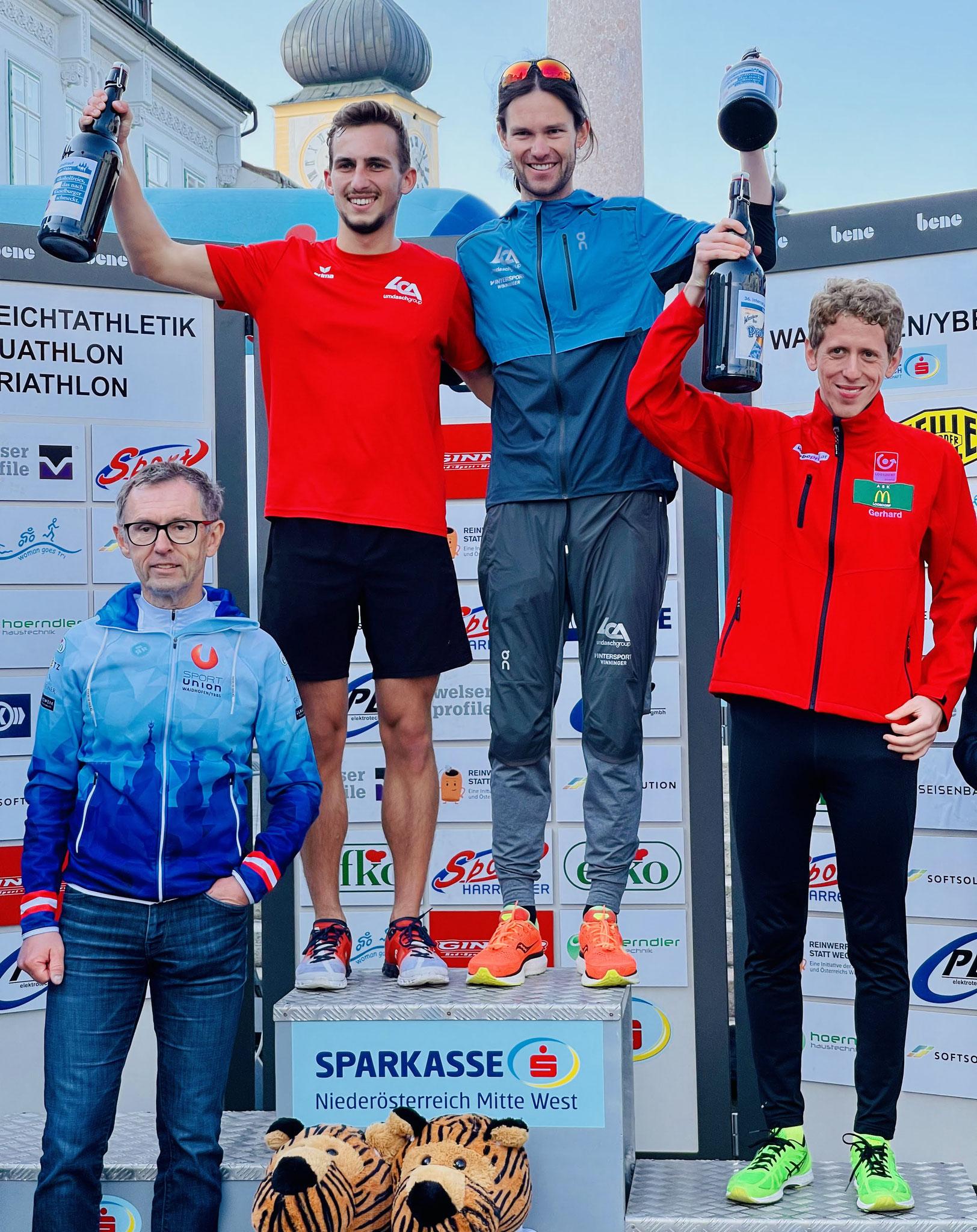 Gerhard holt den Gesamt 3. Platz! Super Leistung