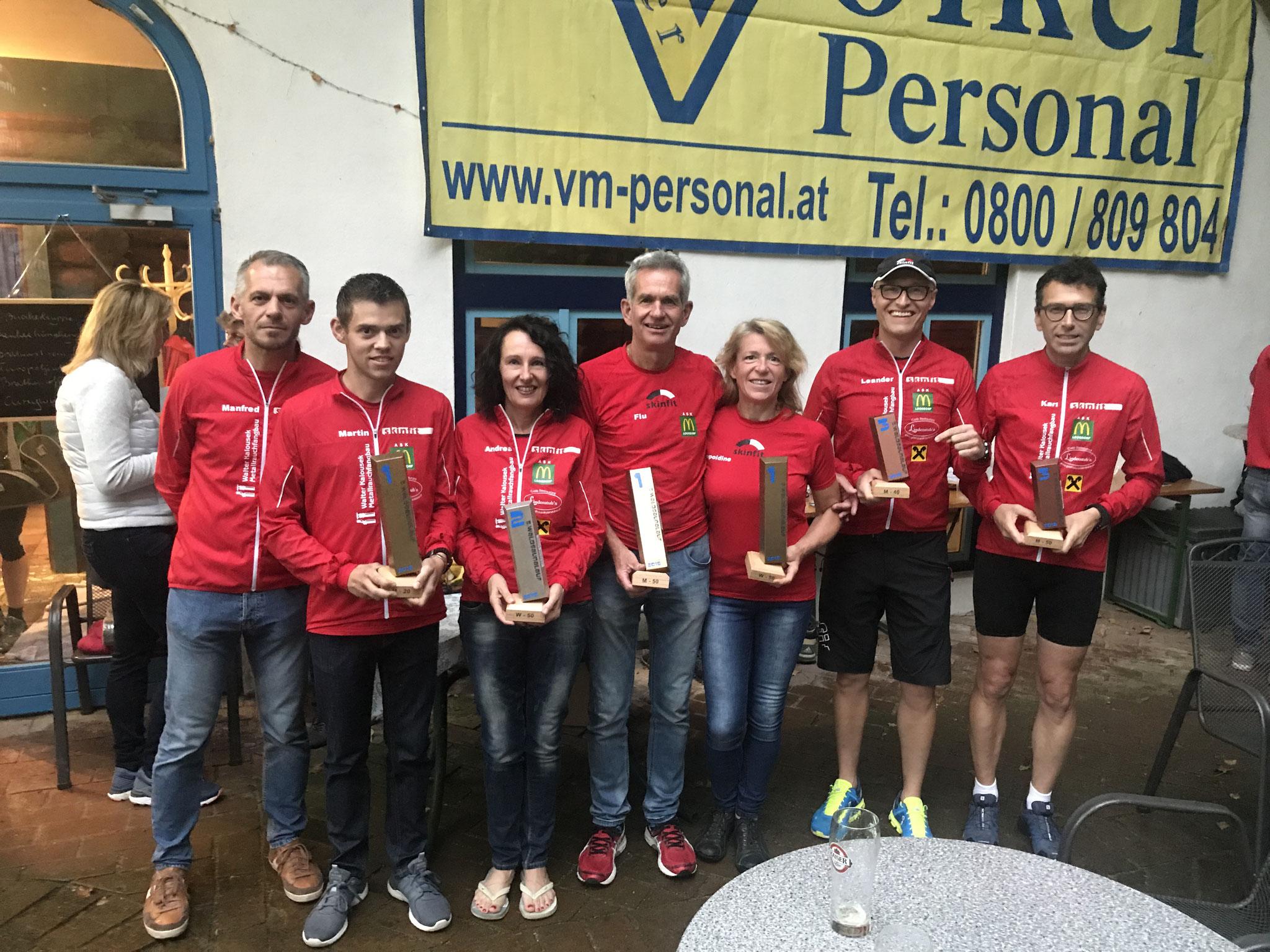 Gratulation dem erfolgreichen Team! 6 Pokale! Wahnsinn!