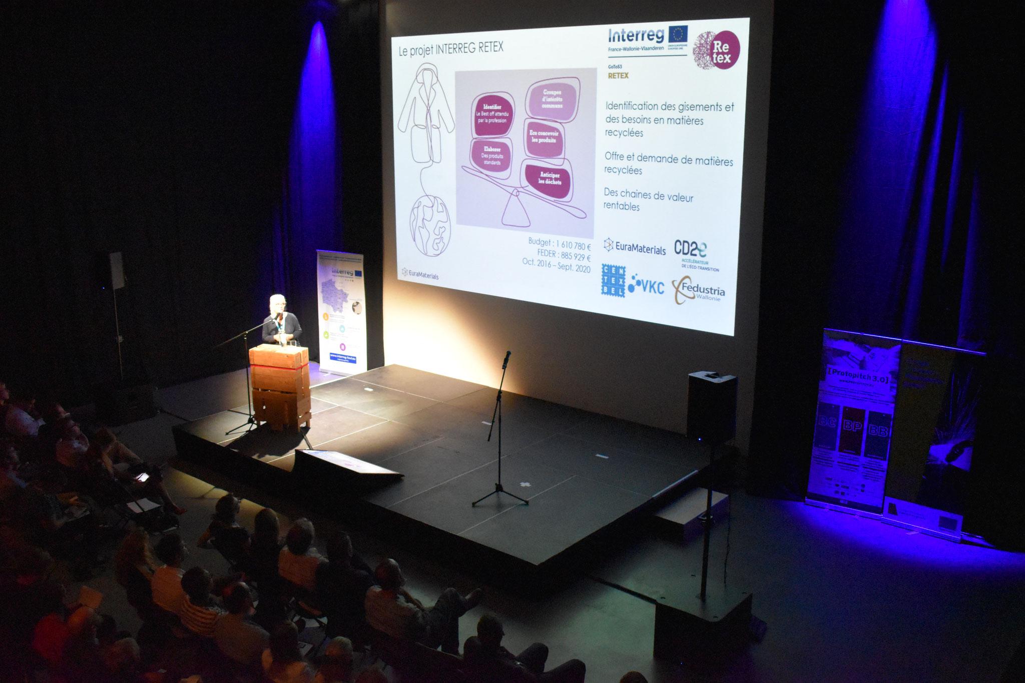 Jeanne Meillier, Interreg-project RETEX - De grenzen van textielrecyclage verleggen