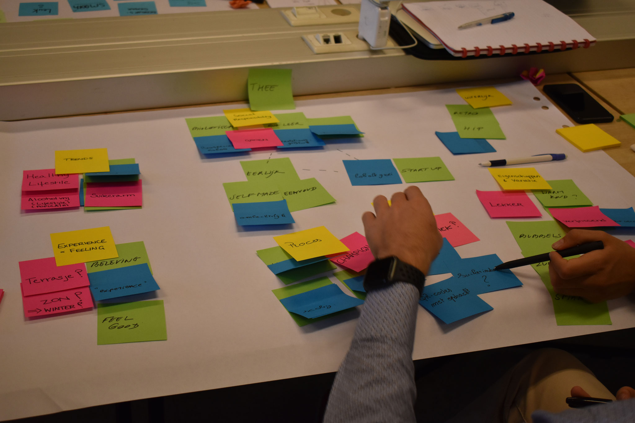 Workshop Prototyping in IDC Howest