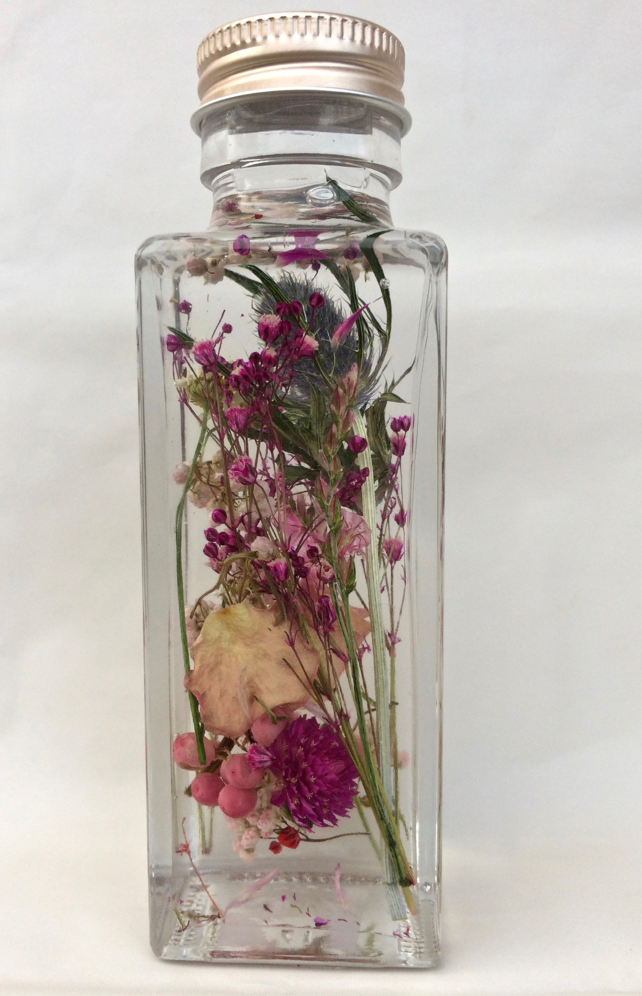 小さい花で素敵に