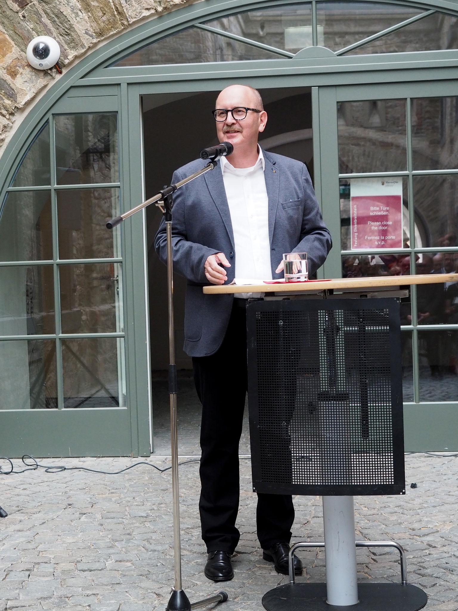 Gerold Reker, Präsident AK RLP