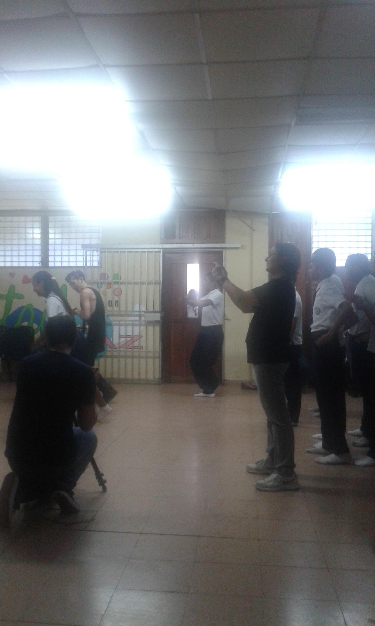 Masterclass para estudiantes del Colegio Elena Chávez de Pinate