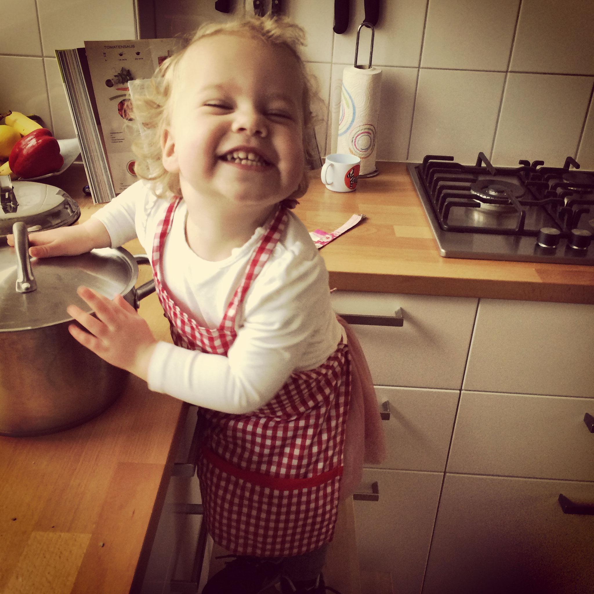 De jongste kok in huis