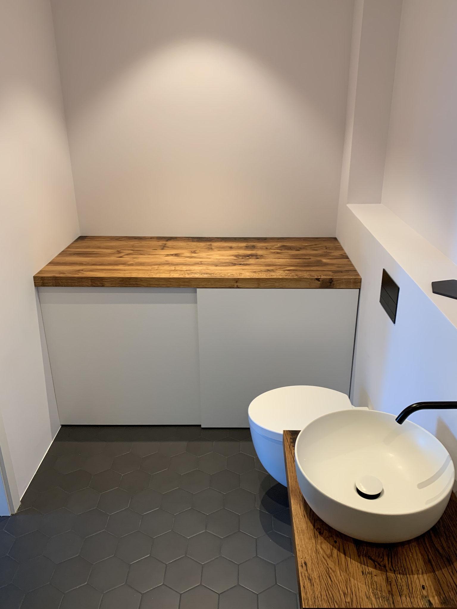 Waschmaschinenschrank - Zusammenarbeit und Fertigung durch Wooden Berlin