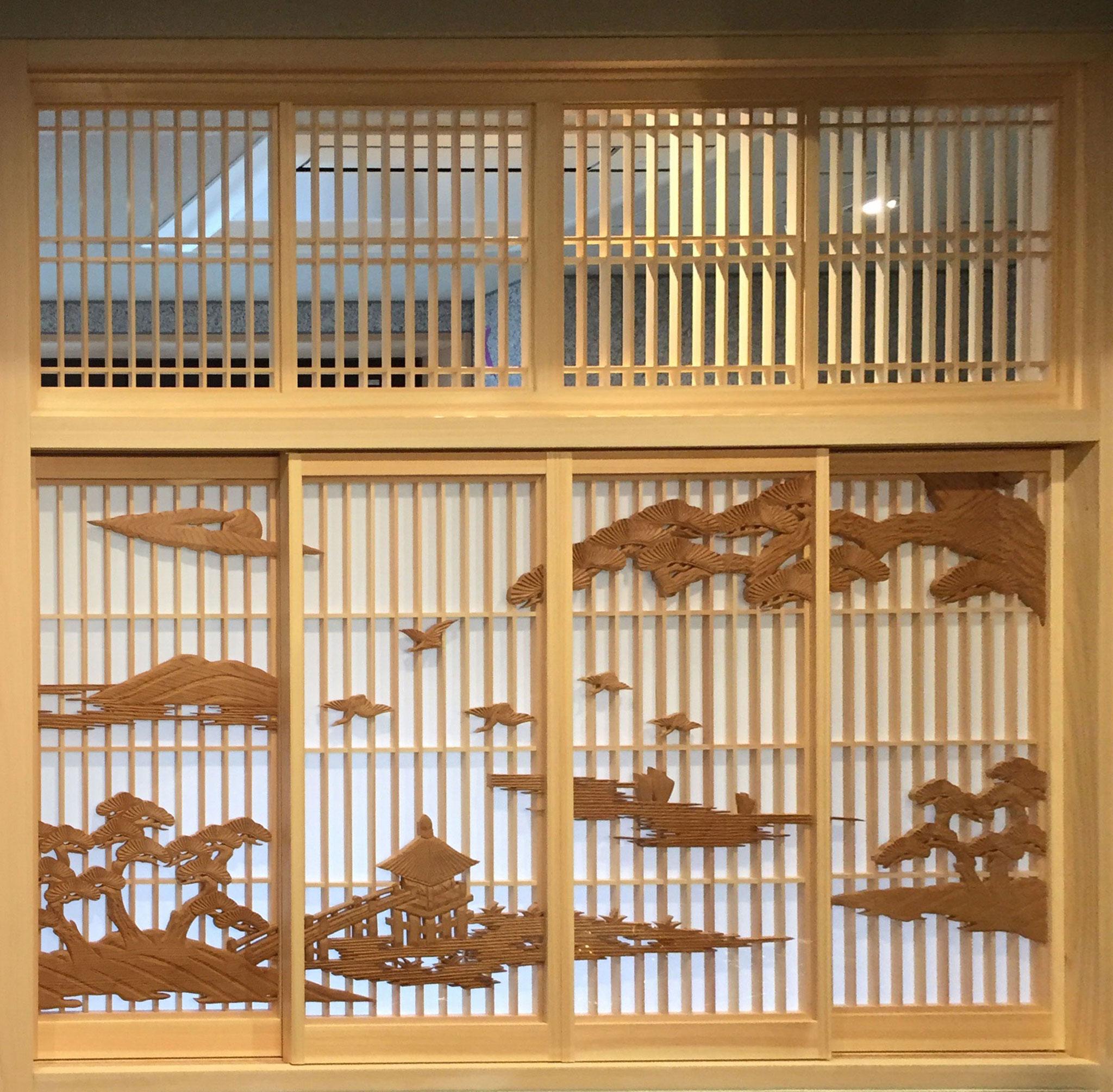 祇園 ホテルアルザ京都様の建具