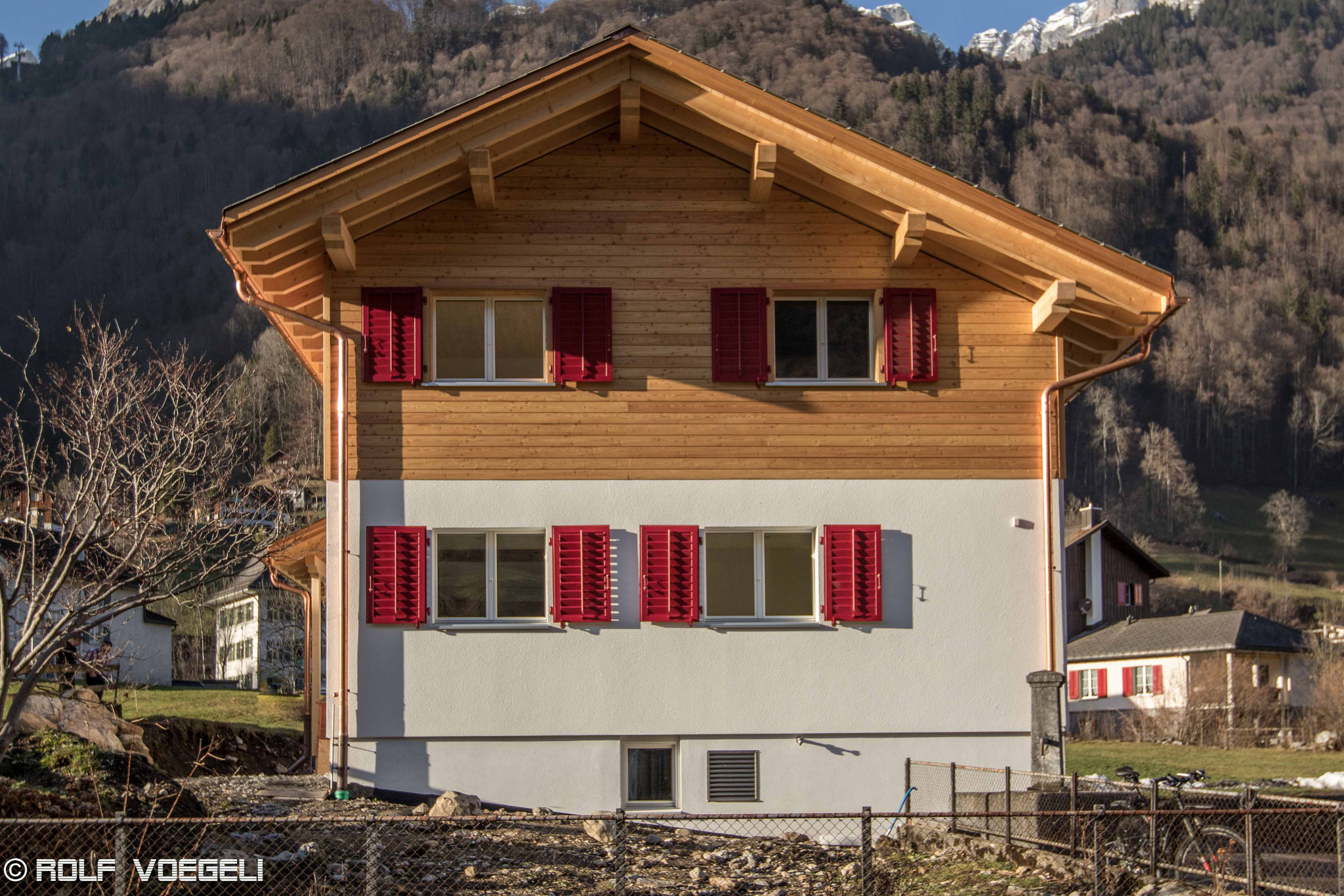 Einfamilienhaus nachher, Luchsingen