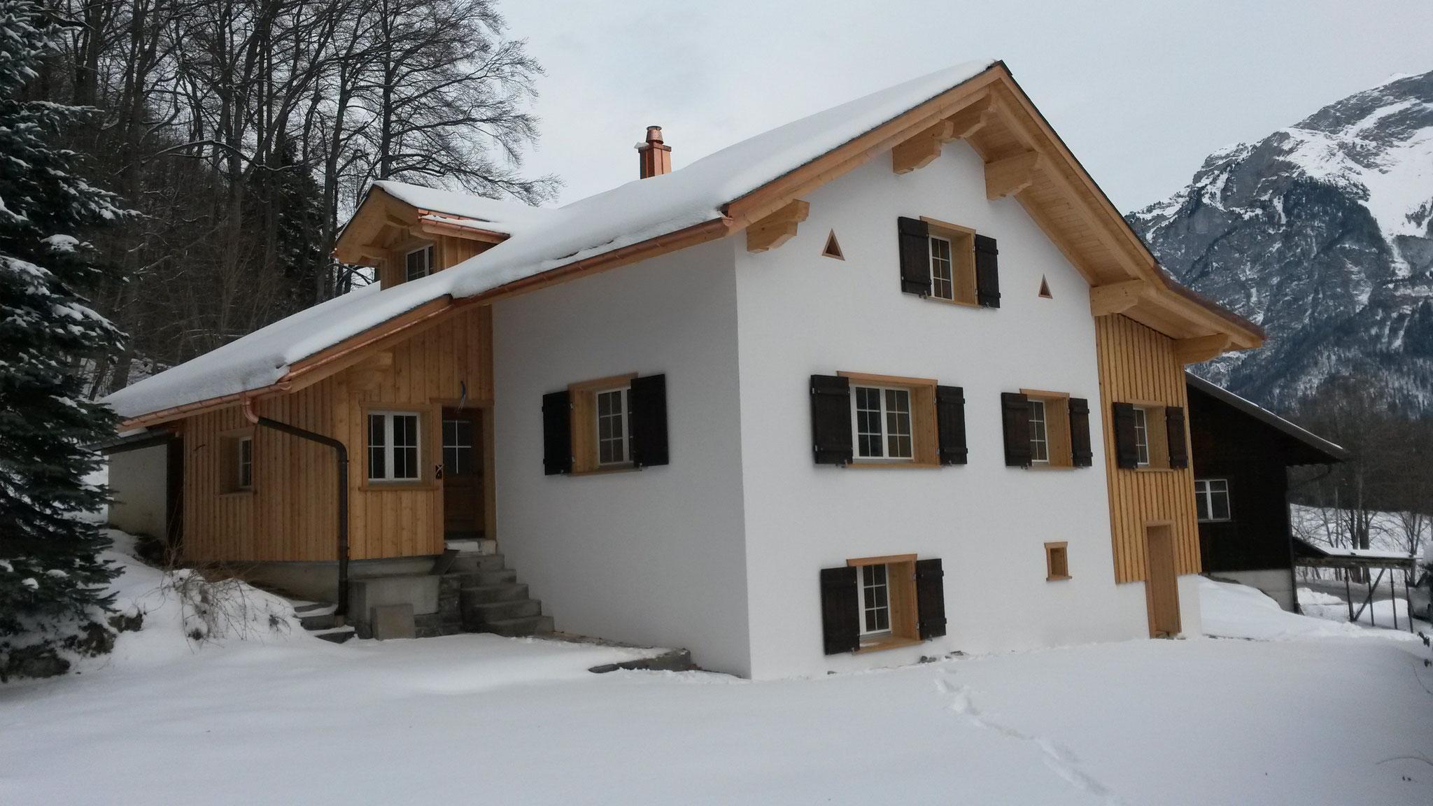 Fassade/Umbau neu, Schwändi