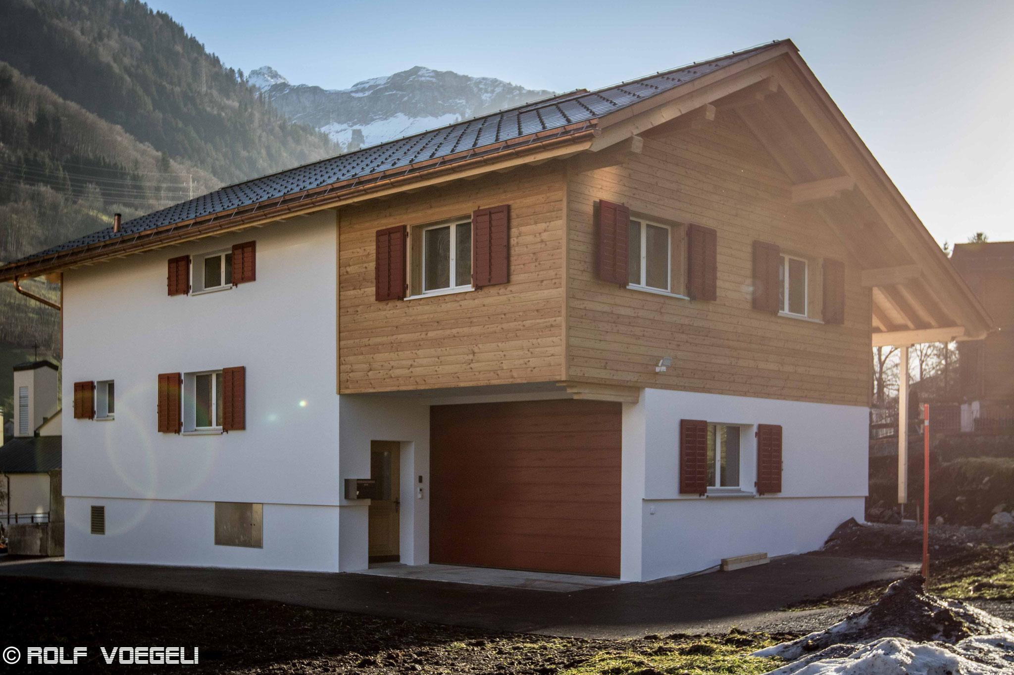 Neubau Einfamilienhaus, Luchsingen