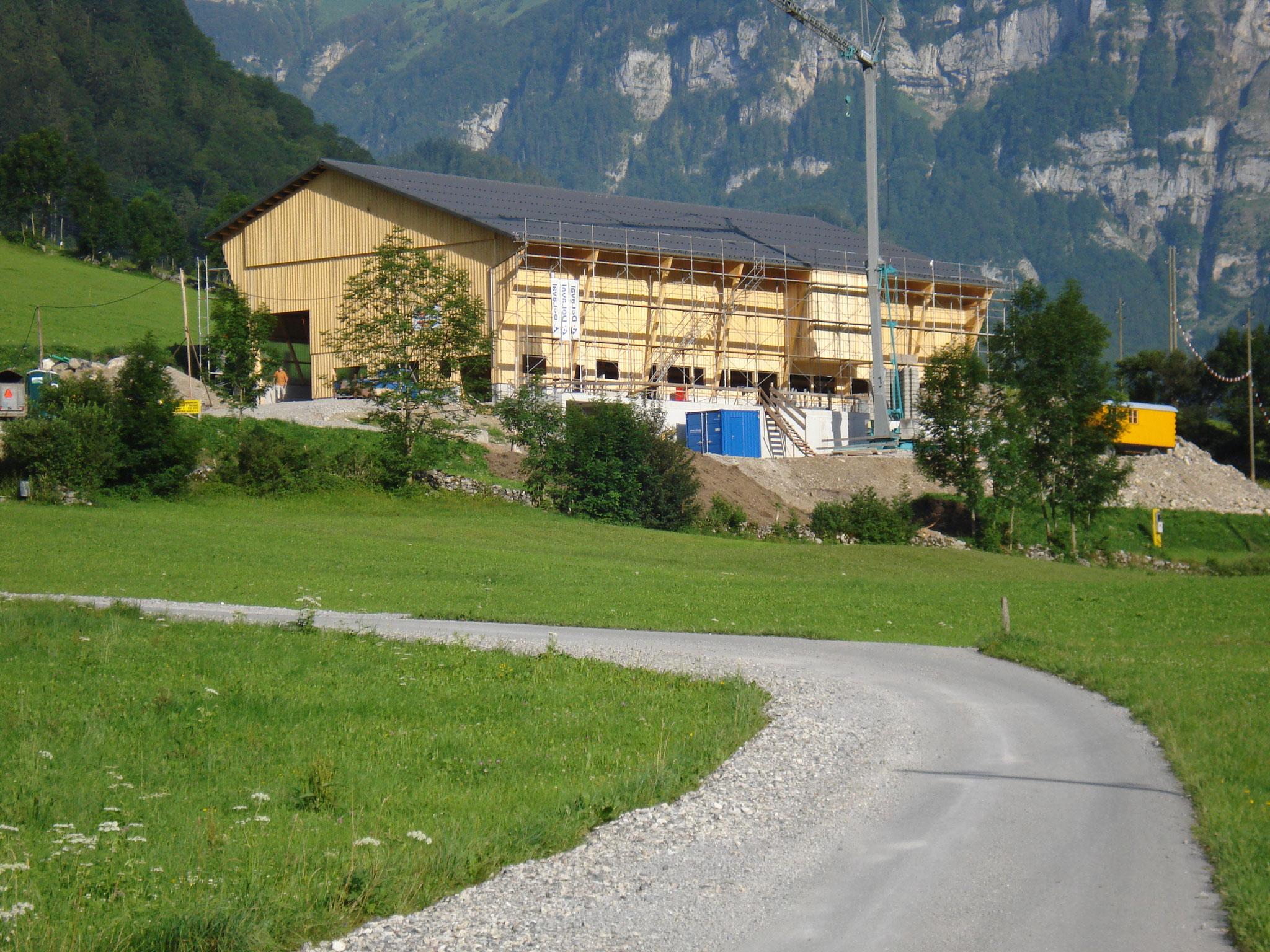 Stallneubau Glarus 2012