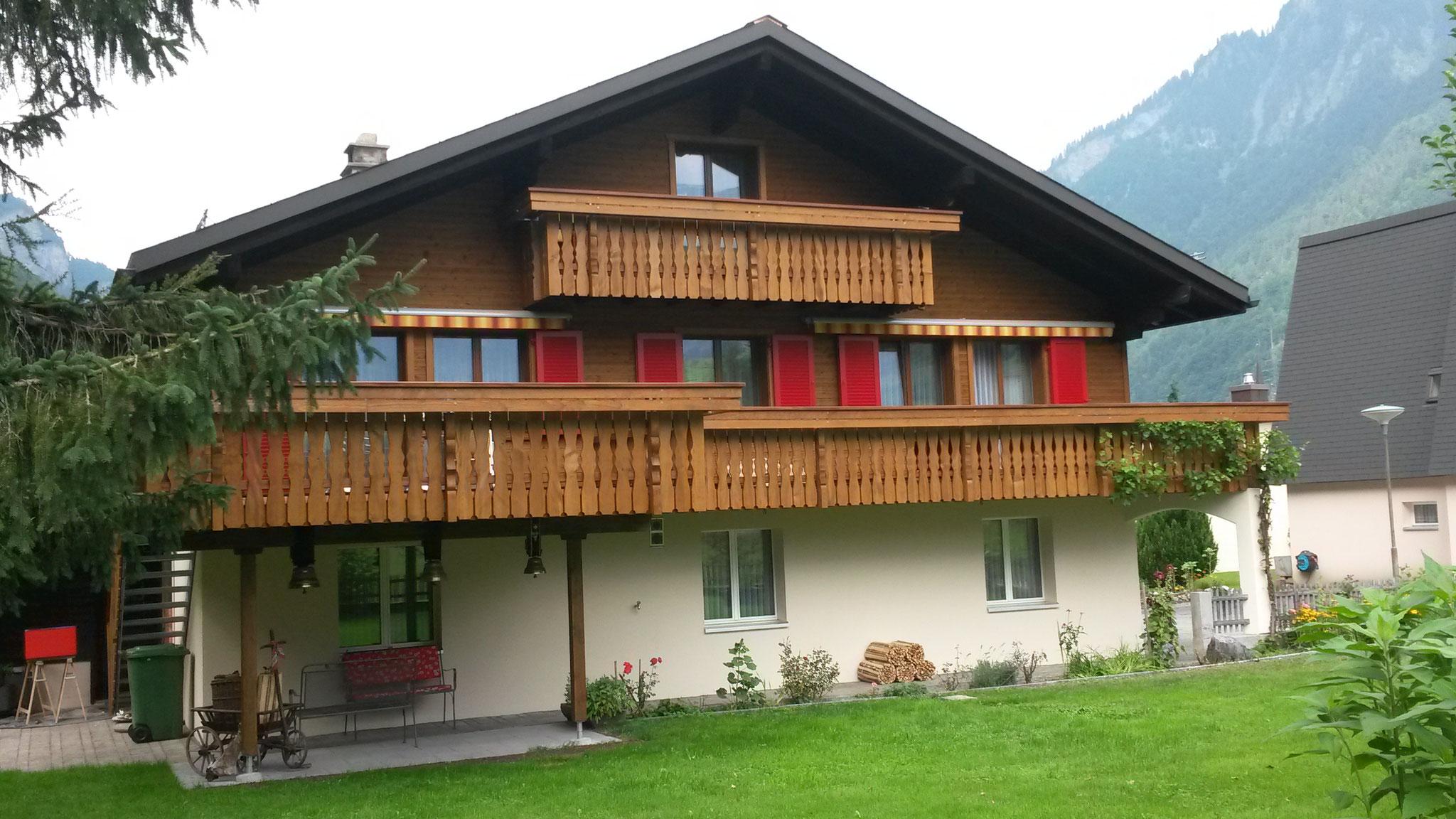 Fassade/Dach neu, Linthal