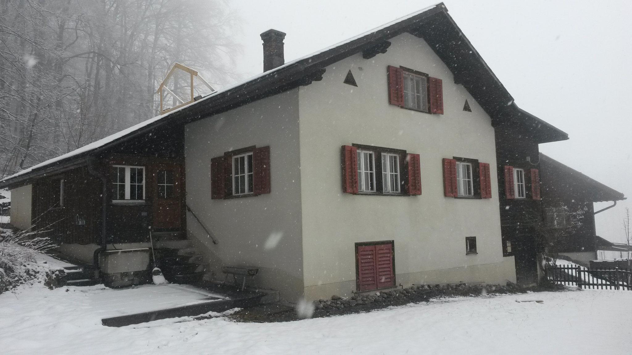 Fassade/Umbau vorher, Schwändi
