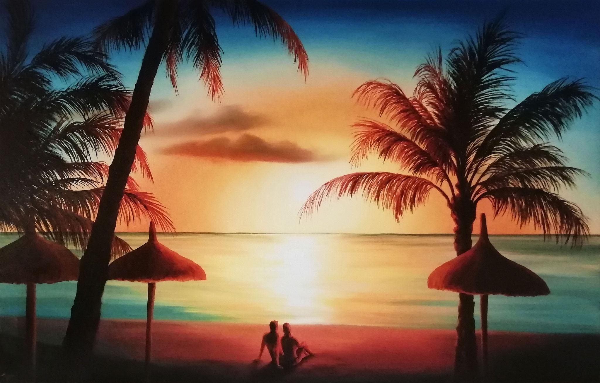 Urlaub am Palmenstrand