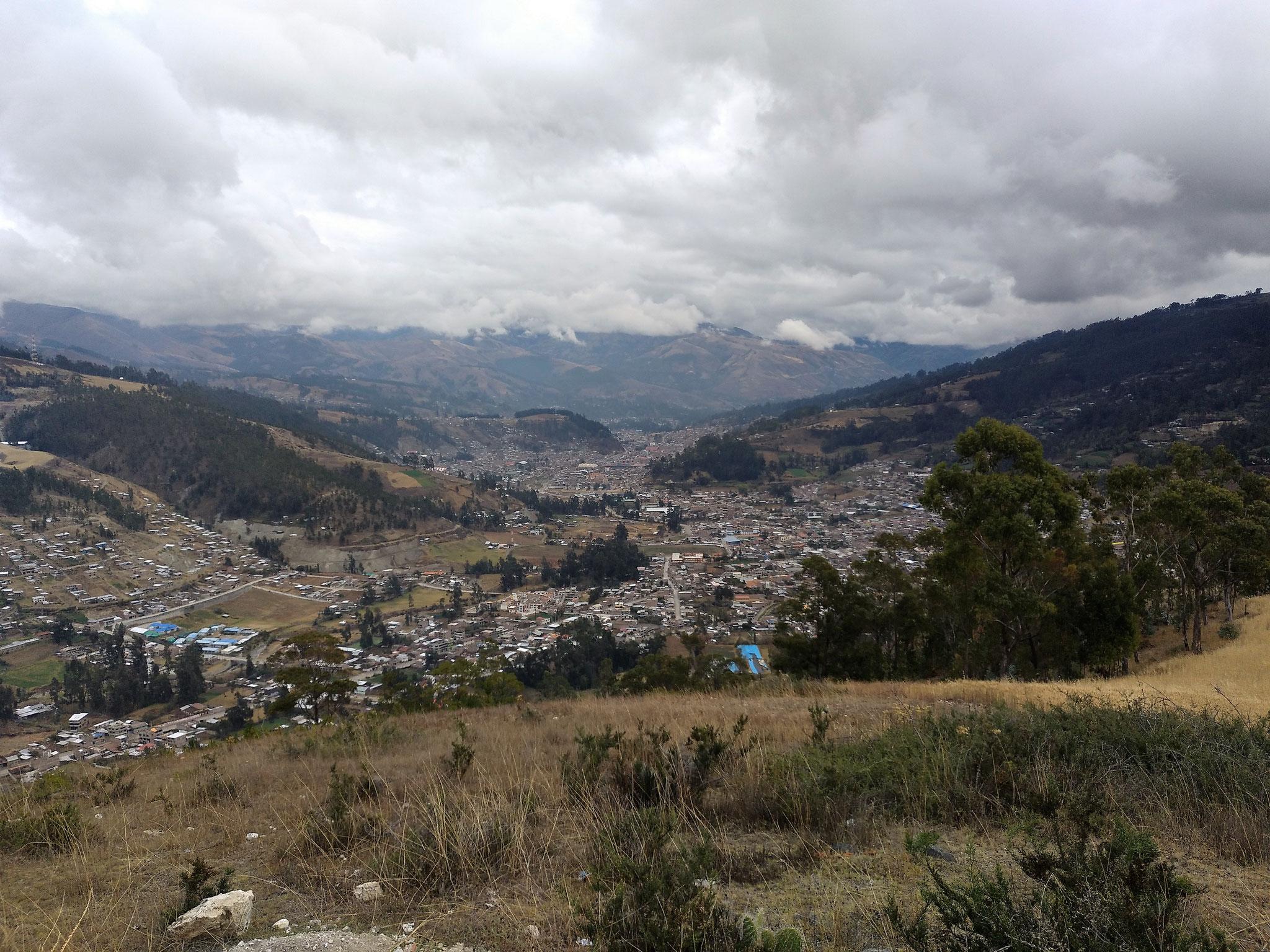 Die Antenne soll unter anderem Andahuaylas und die Umgebung erreichen.