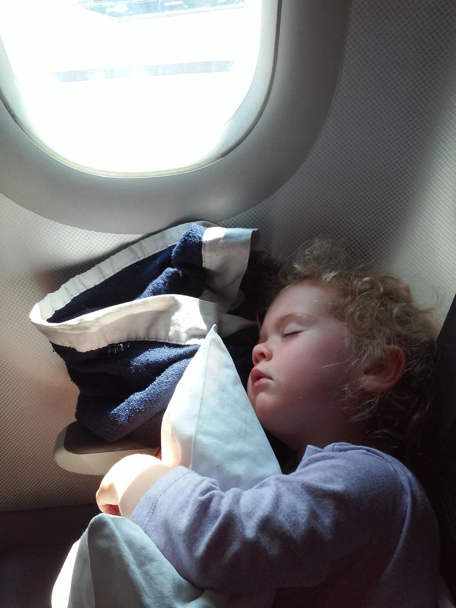 ...war so entspannend, dass man schlafen konnte!
