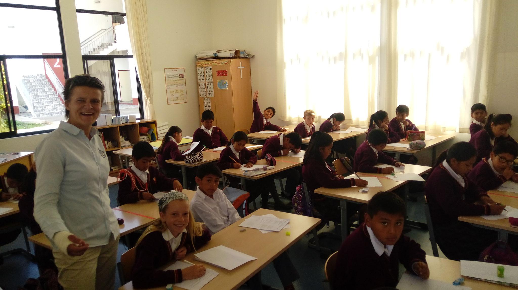 Ein Blick in eine Klasse