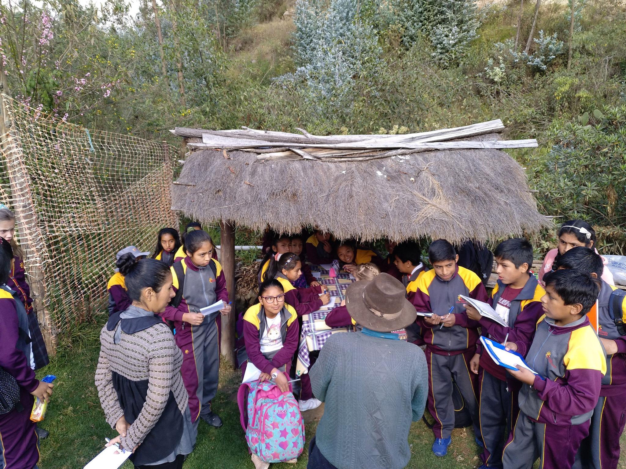 Der alte Quechua erklärt...