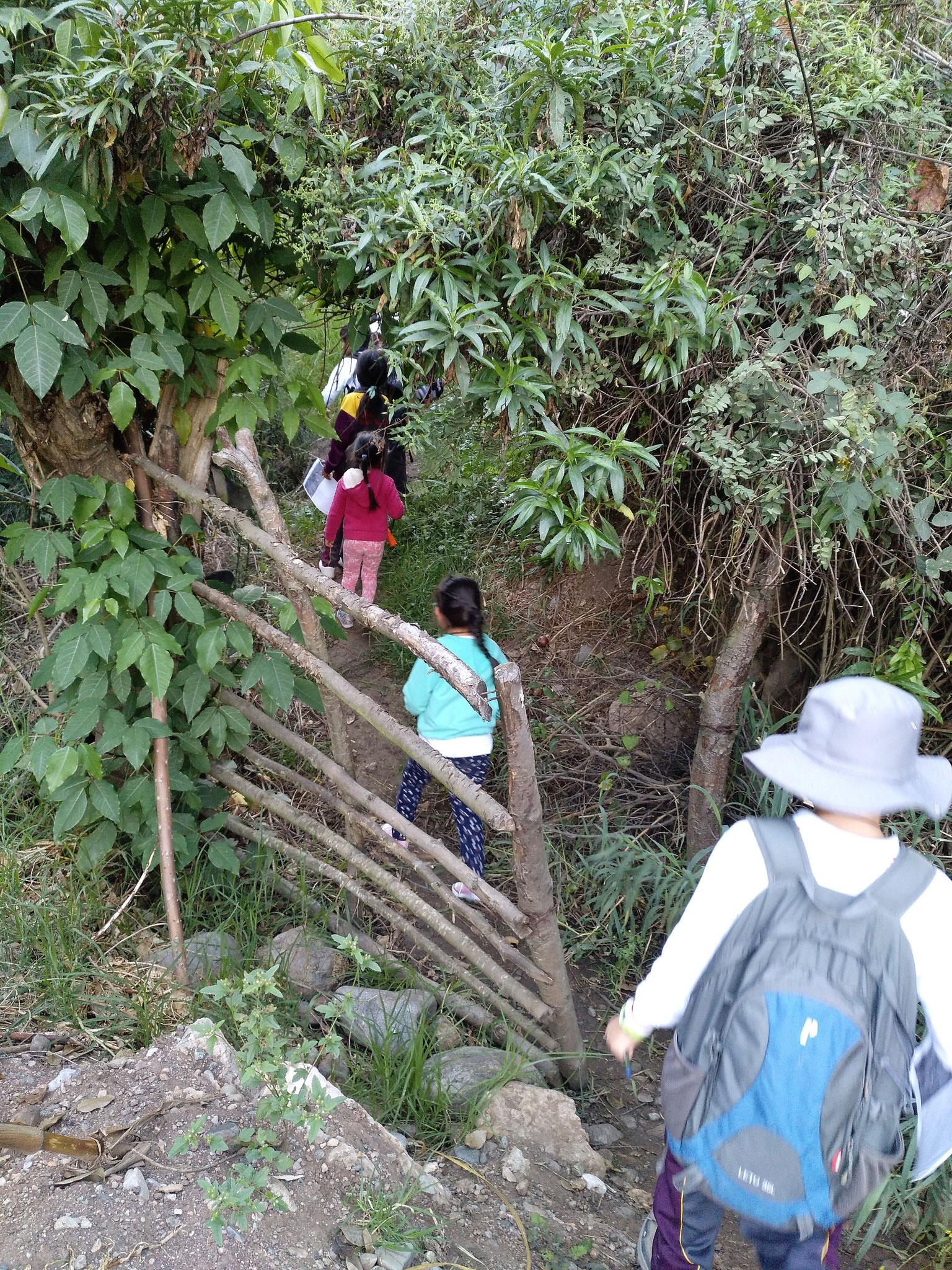 Jedes Kinder durfte an drei von acht Exkursionen teilnehmen