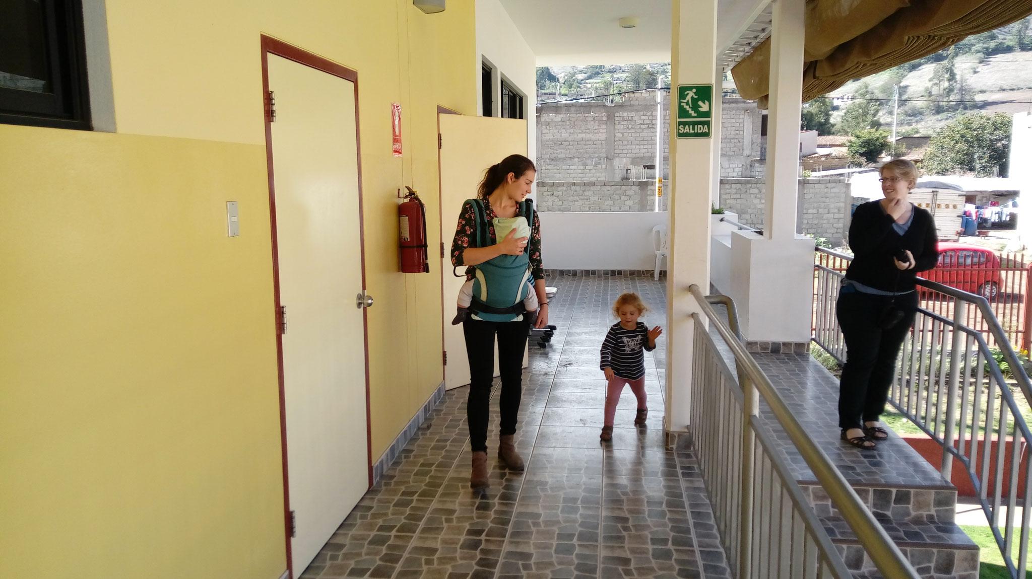Ein Rundgang durch die Schule
